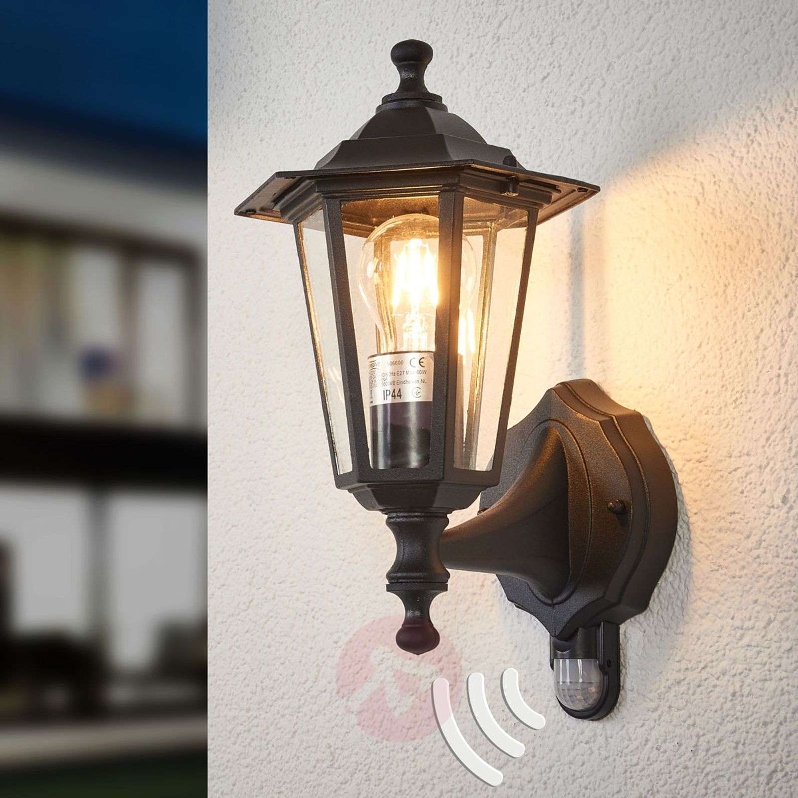 Outdoor Lighting Companies: Infrared Outdoor Light PEKING Black