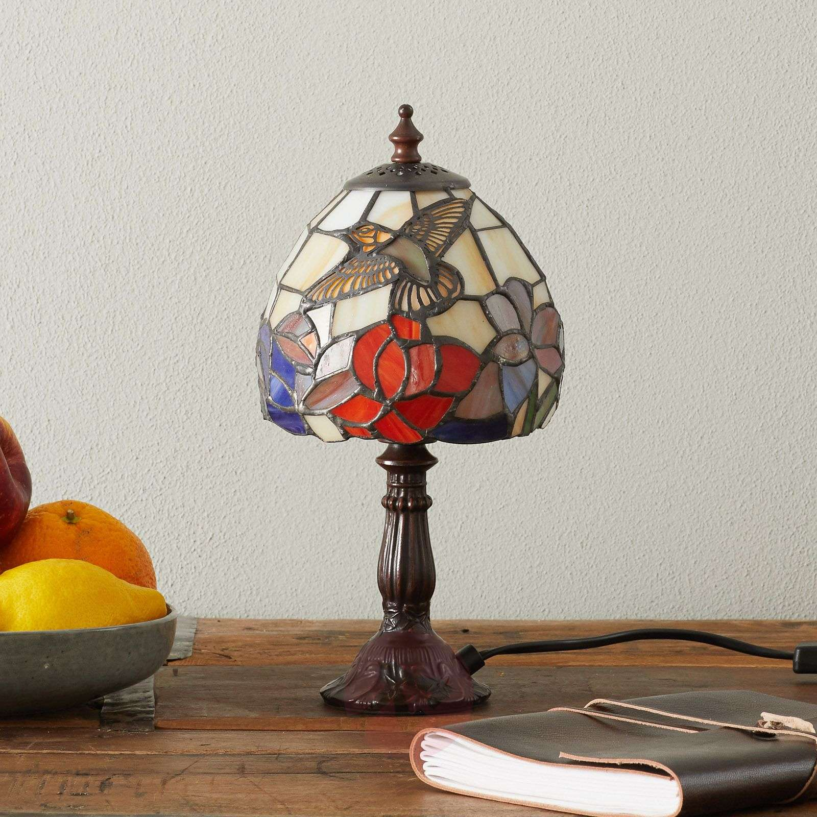 IRENA beautiful table lamp in the Tiffany style-1032195-01