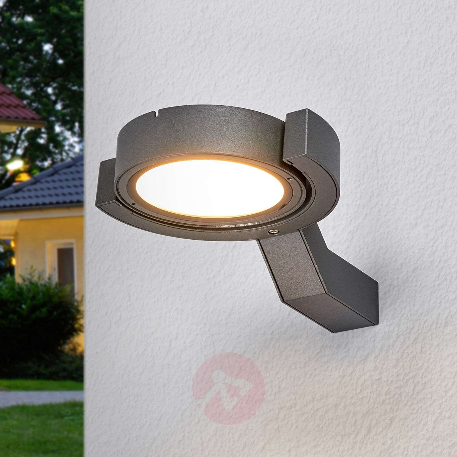 isita adjustable led outdoor wall light. Black Bedroom Furniture Sets. Home Design Ideas