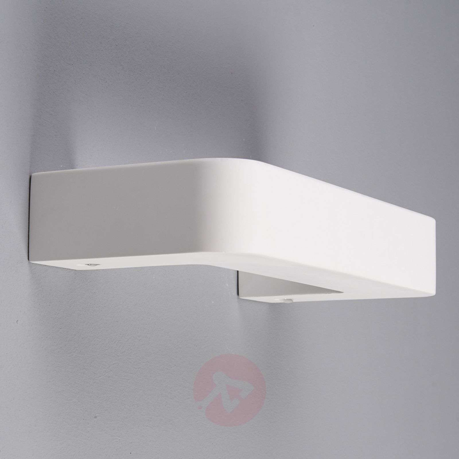 Isra Halogen Wall Light U-Shaped Plaster Lights.co.uk