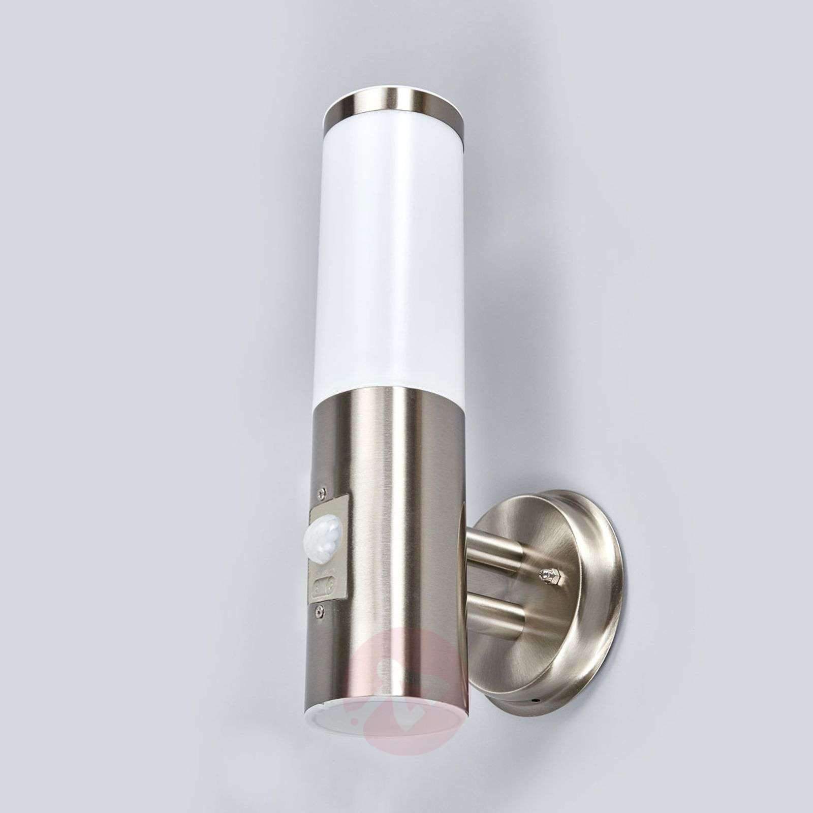 Kristof Stainless Steel Sensor Outdoor Wall Light