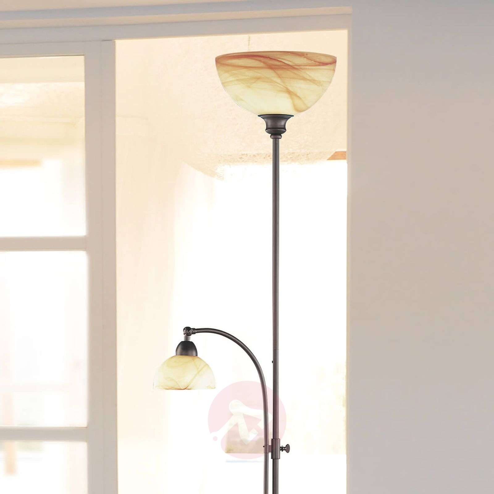 Lacchino floor lamp with foot dimmer-9650219-01