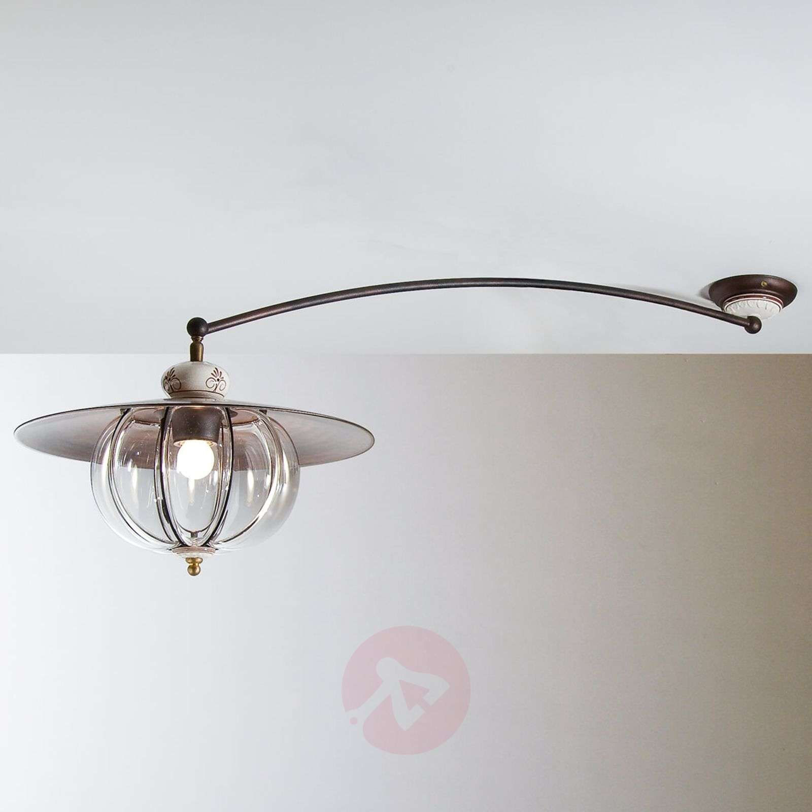 Lampara Ceiling Light With Long Arm