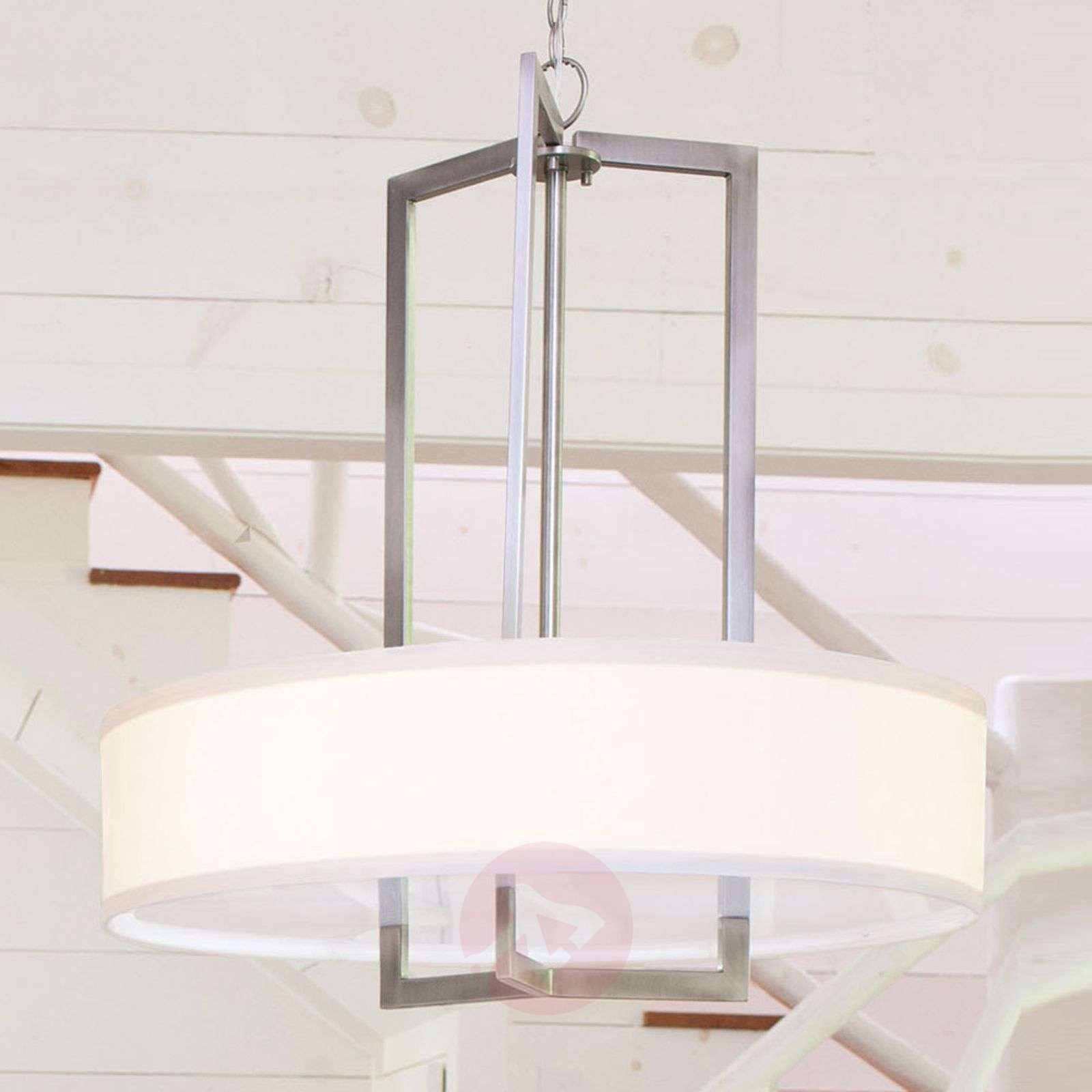 Large fabric pendant light hampton lights large fabric pendant light hampton 3048277 01 mozeypictures Images