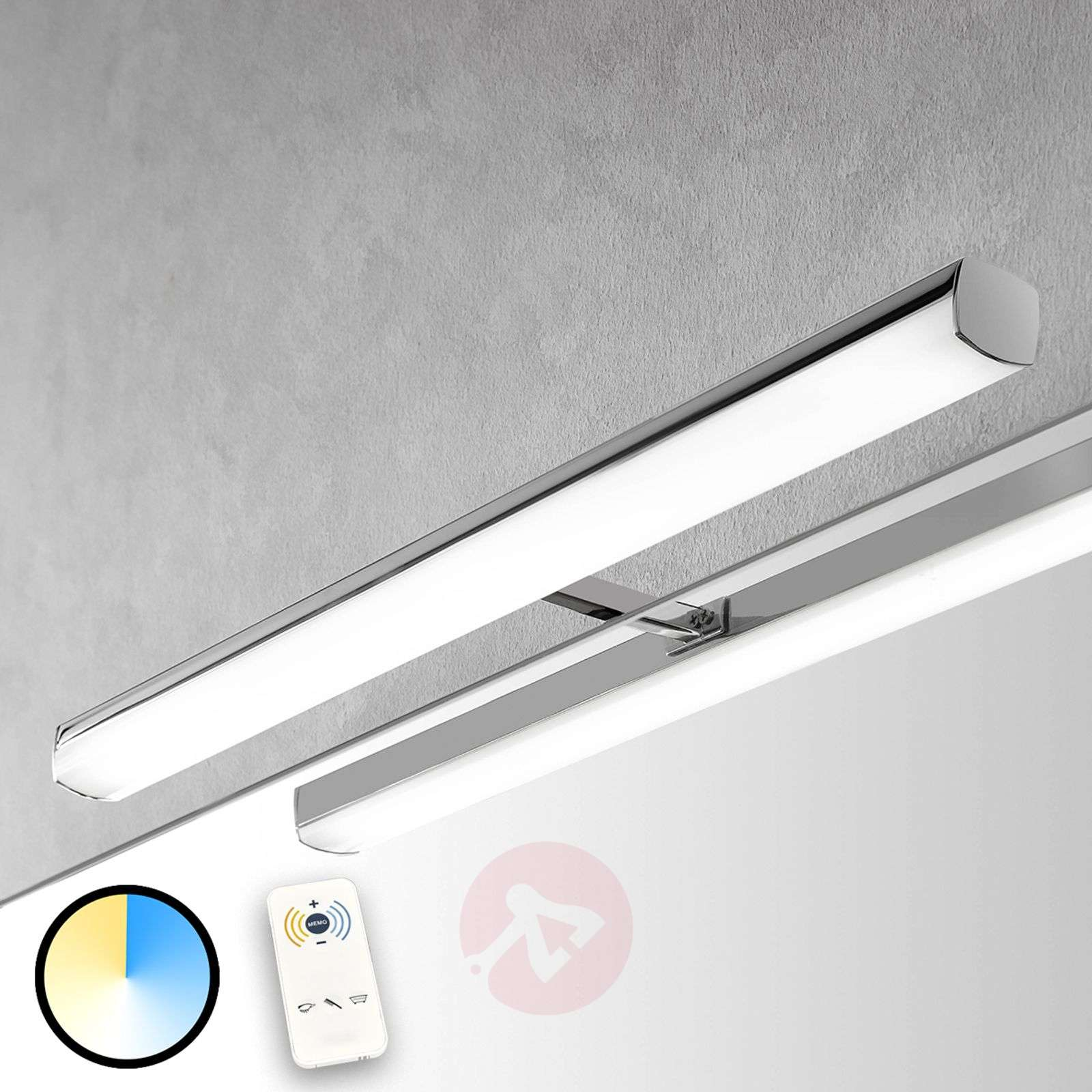 ... LED Bathroom Mirror Light Atlaswith Remote Control 3052037 04 ...