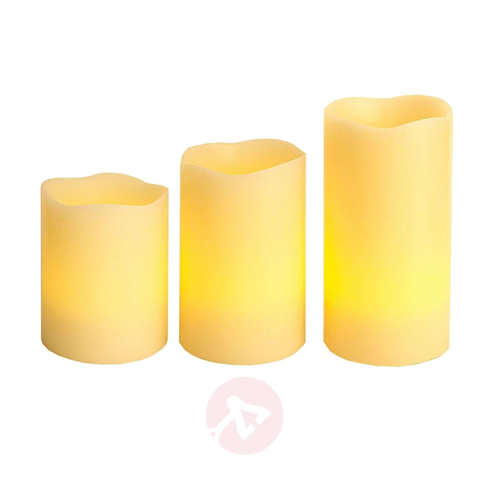 LED candle Wax, RGB colour change, remote control-1522390-03