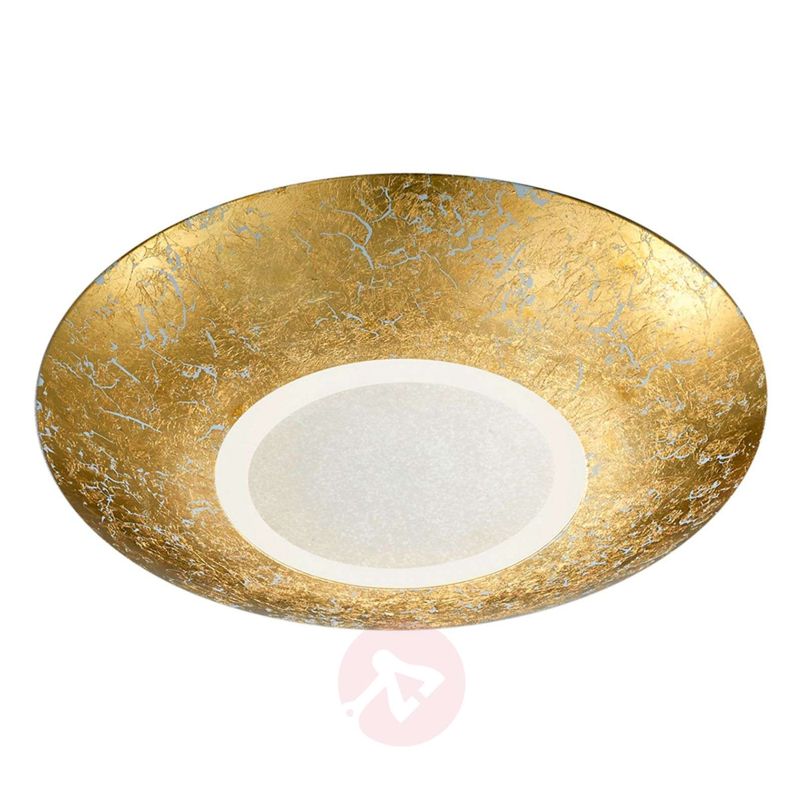 Led ceiling lamp chiros round gold colour lights led ceiling lamp chiros round gold colour 9005259 01 aloadofball Images