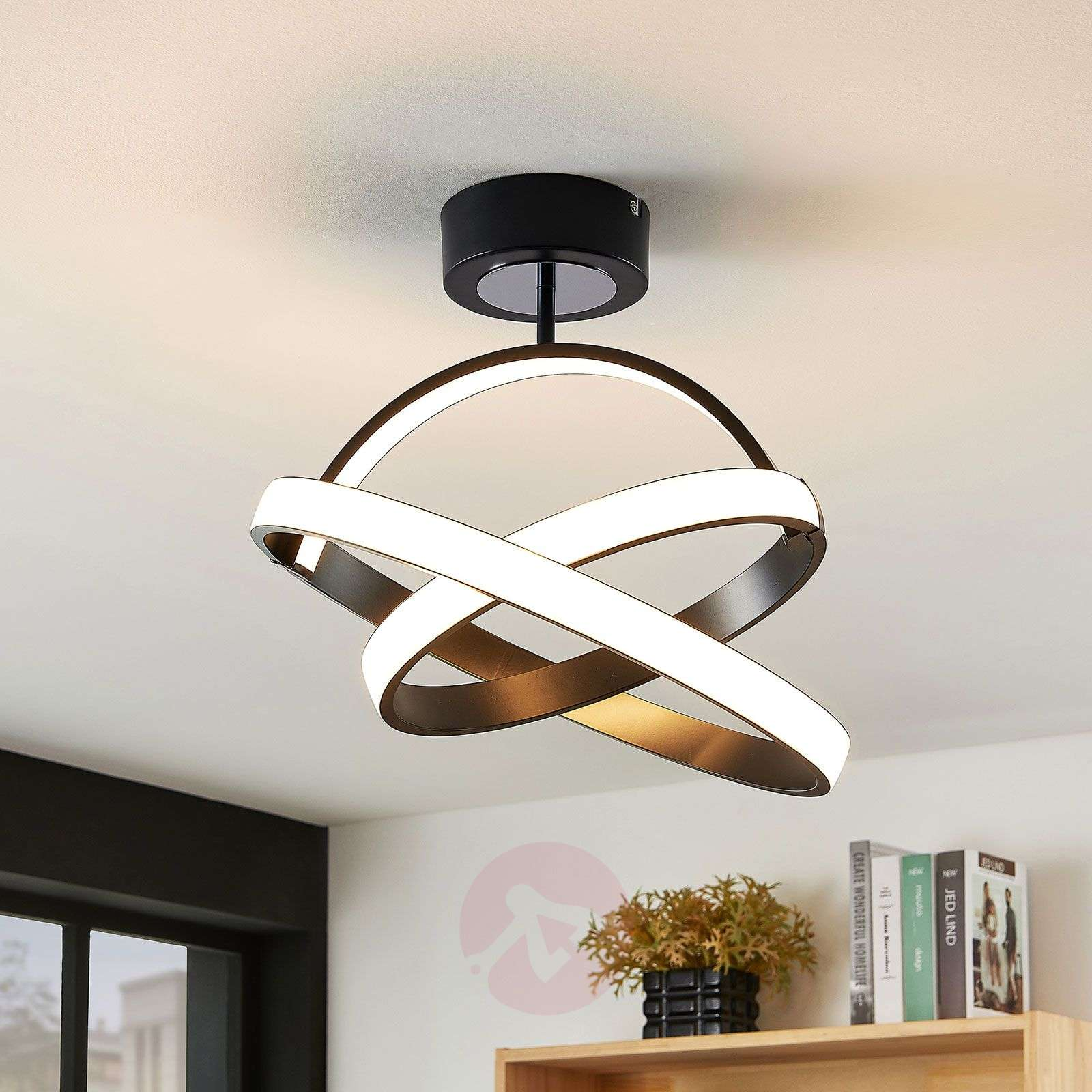 Led Ceiling Light Halima Dimmable Rings Lights Co Uk