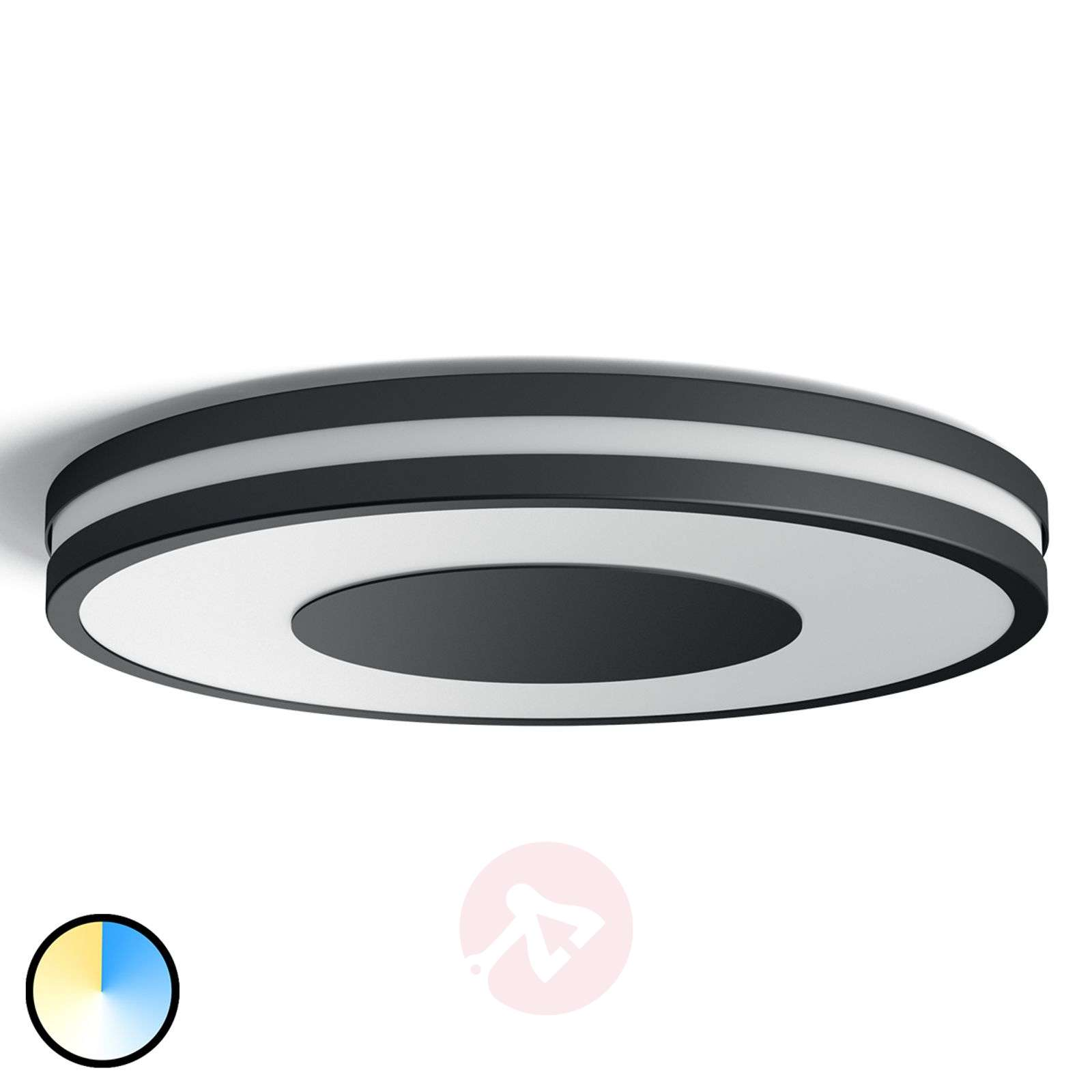 LED ceiling light Philips Hue Being, dimmer switch ...
