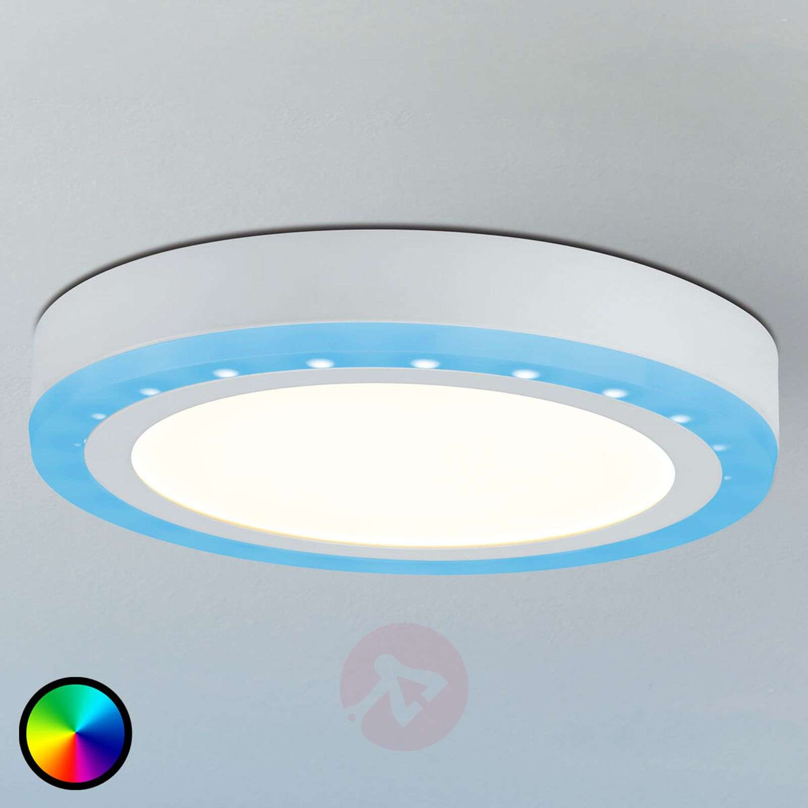 LED ceiling light Sol, RGB colour change function | Lights.co.uk