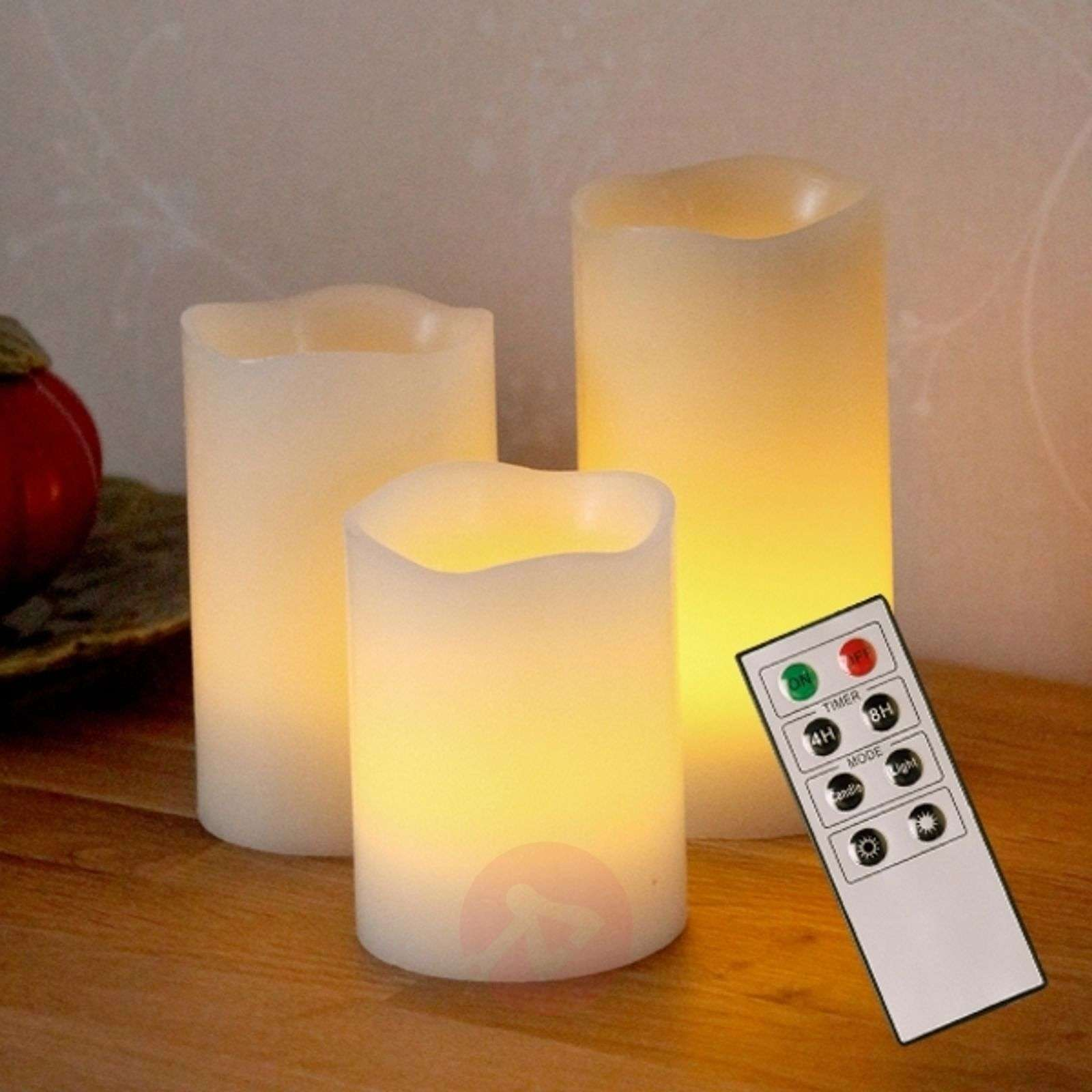 LED decorative candle Wax made of wax-1522391-01