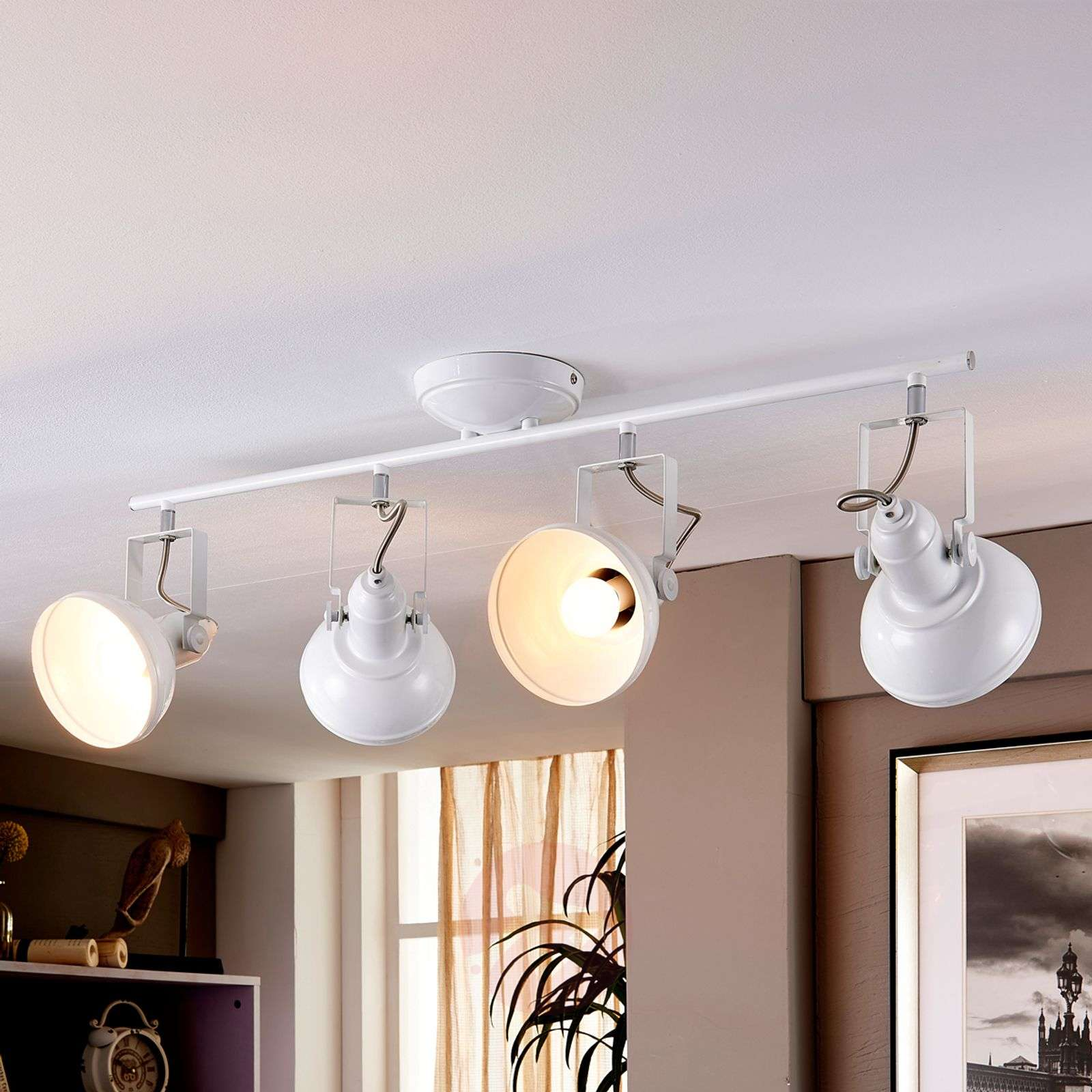 LED Kitchen Lamp Tameo With White Lampshades 9621026 01 ...