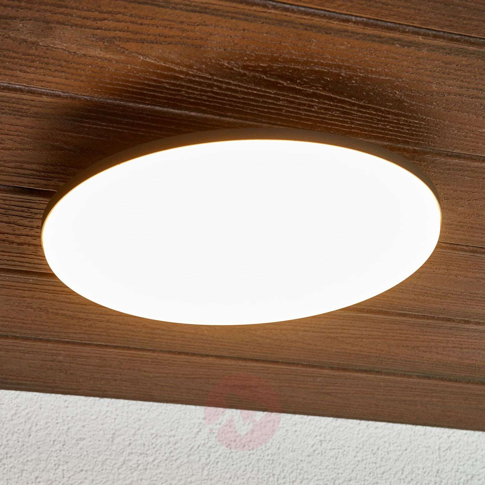 LED Outdoor Ceiling Light Benna, Motion Detector 9619116 03 ...