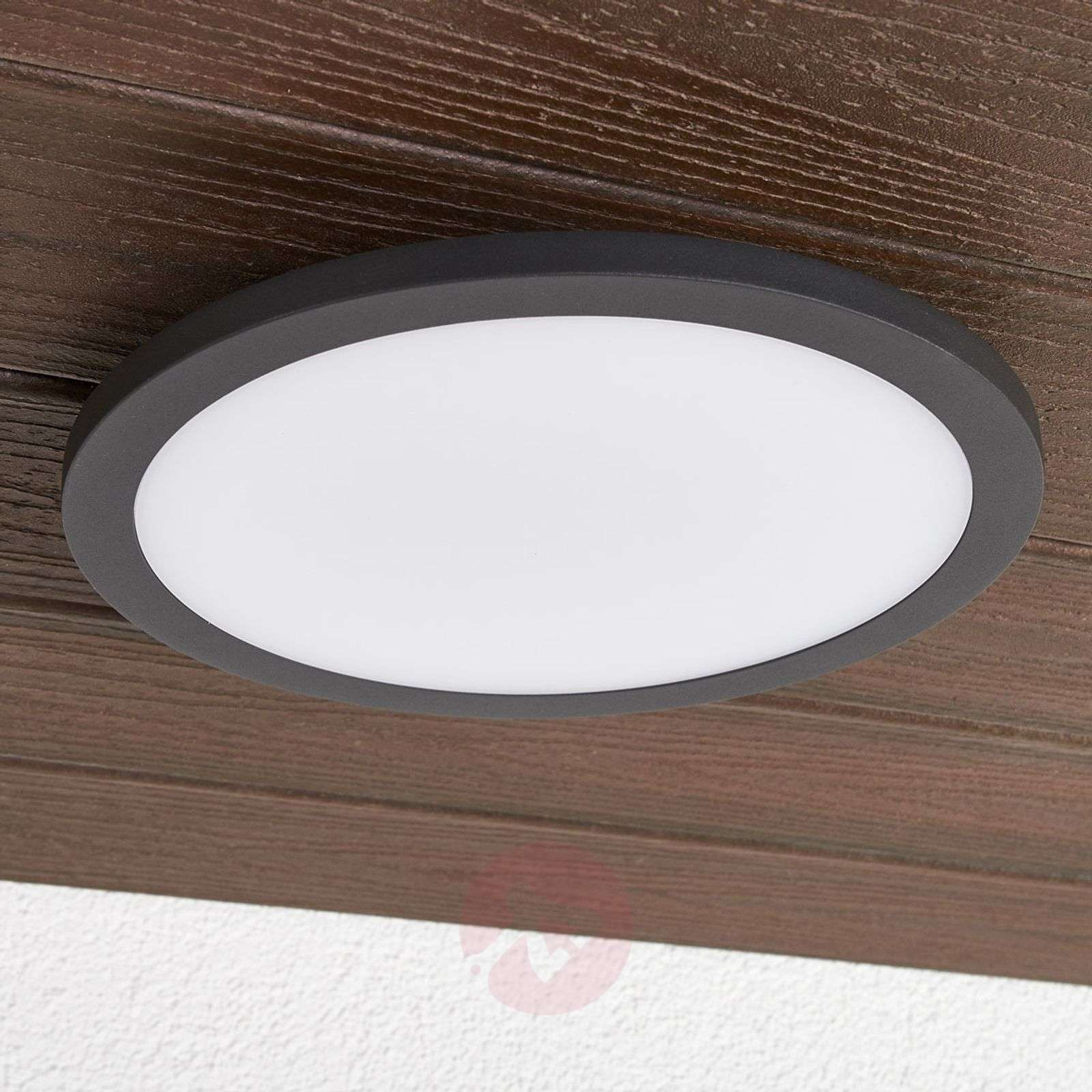 Swell Led Outdoor Ceiling Light Malena With Sensor Download Free Architecture Designs Jebrpmadebymaigaardcom