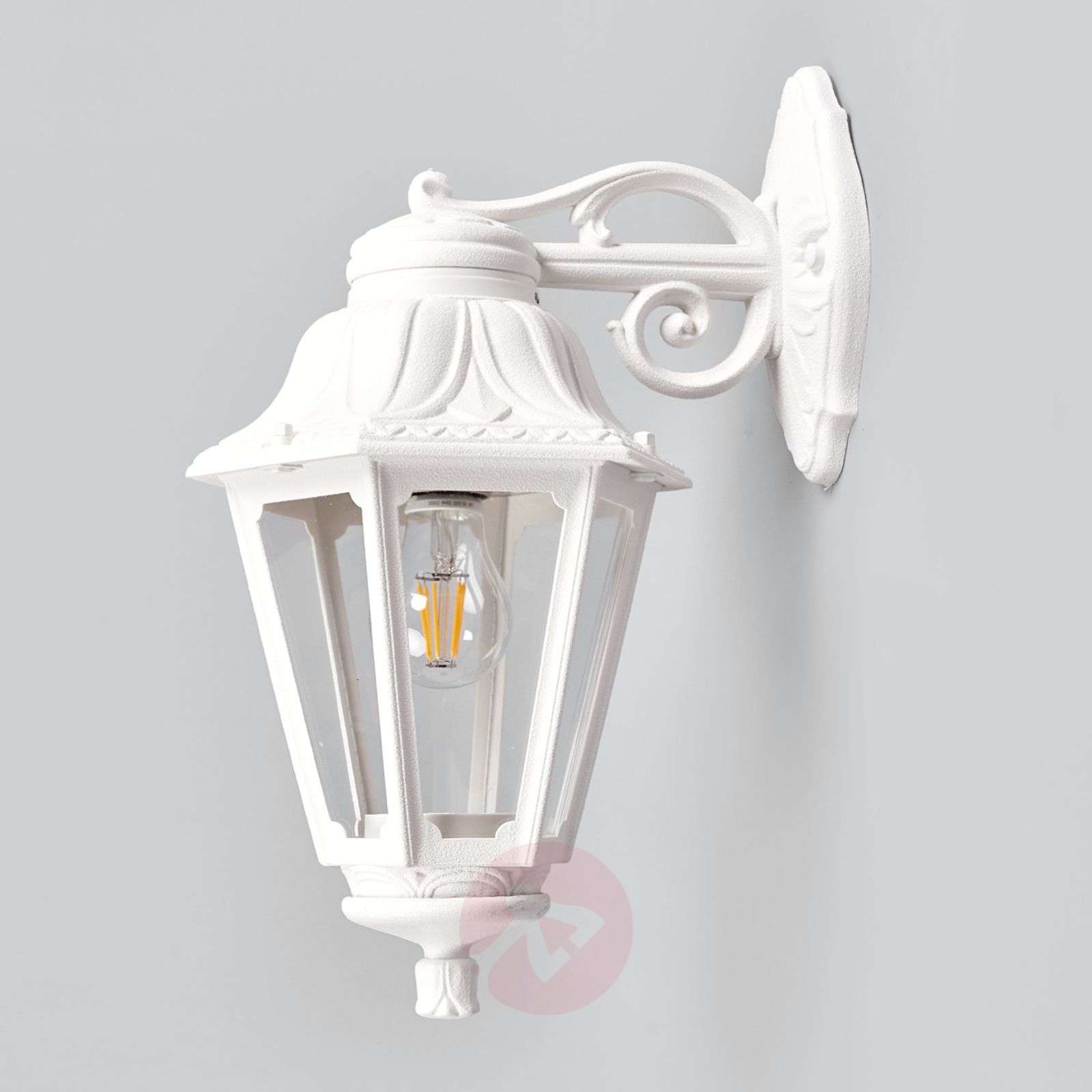 LED outdoor wall light Bisso Anna, lantern down Lights.co.uk