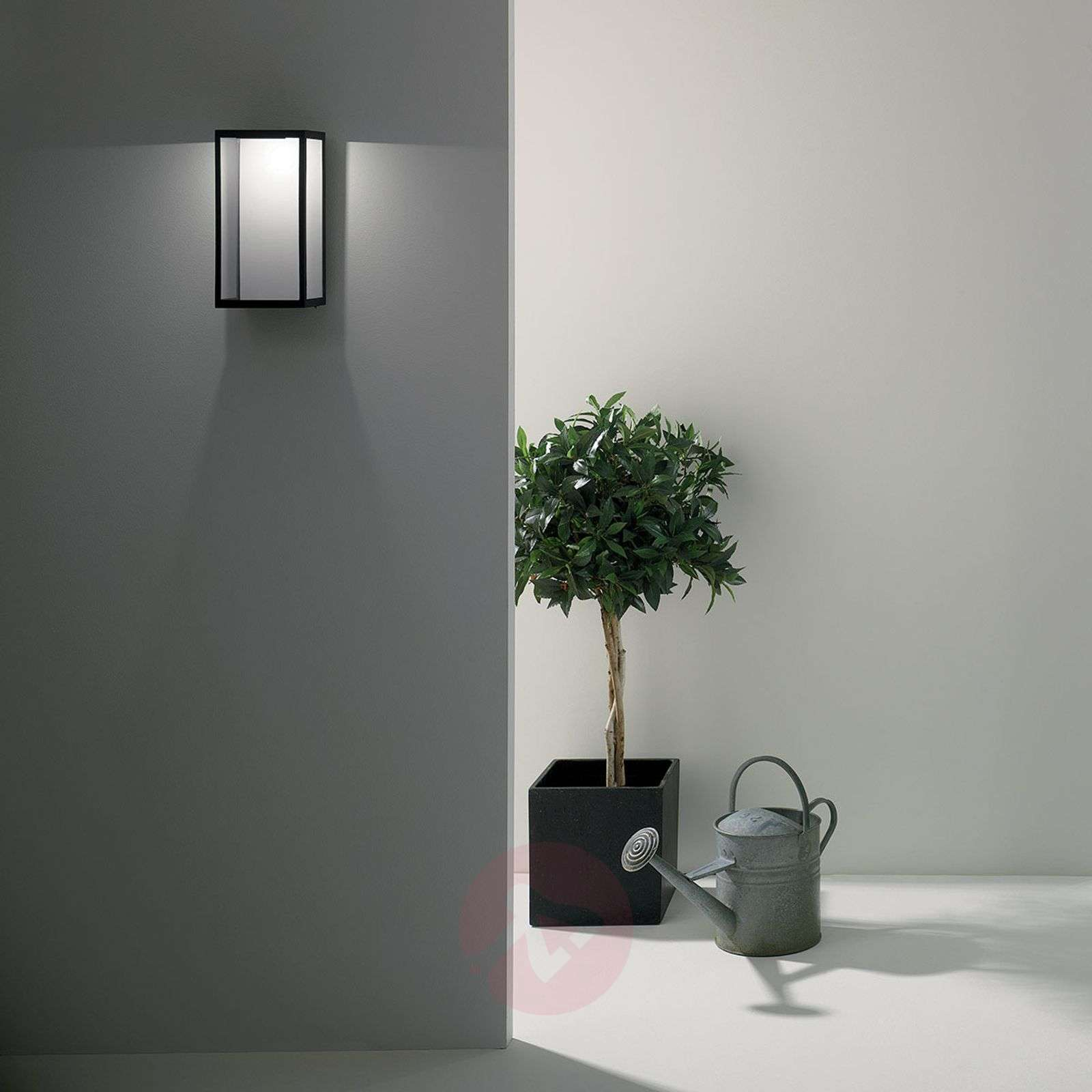 LED outdoor wall light Puzzle in black-1020528-02