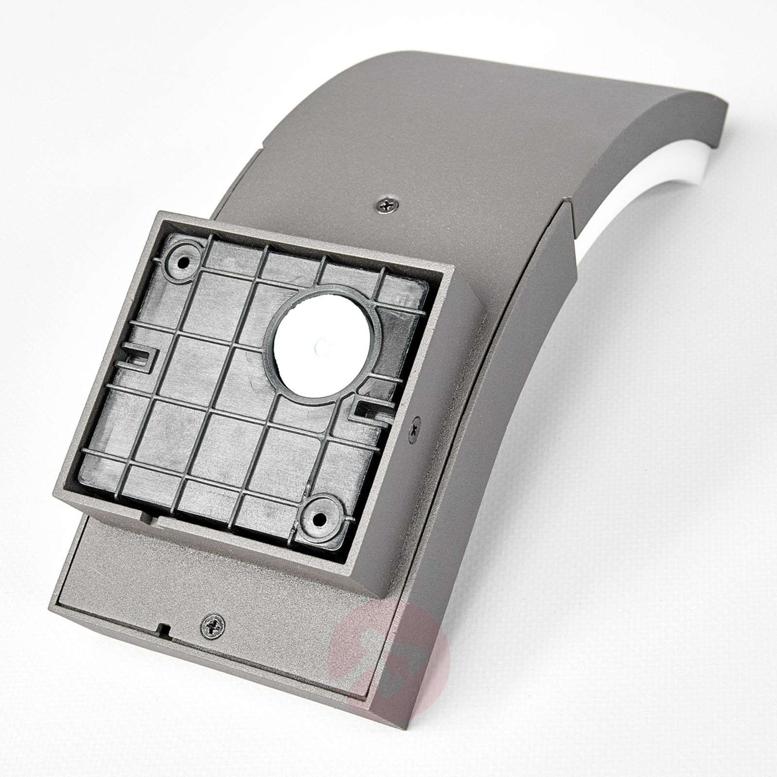 Led Outdoor Wall Light Timm With Motion Detector
