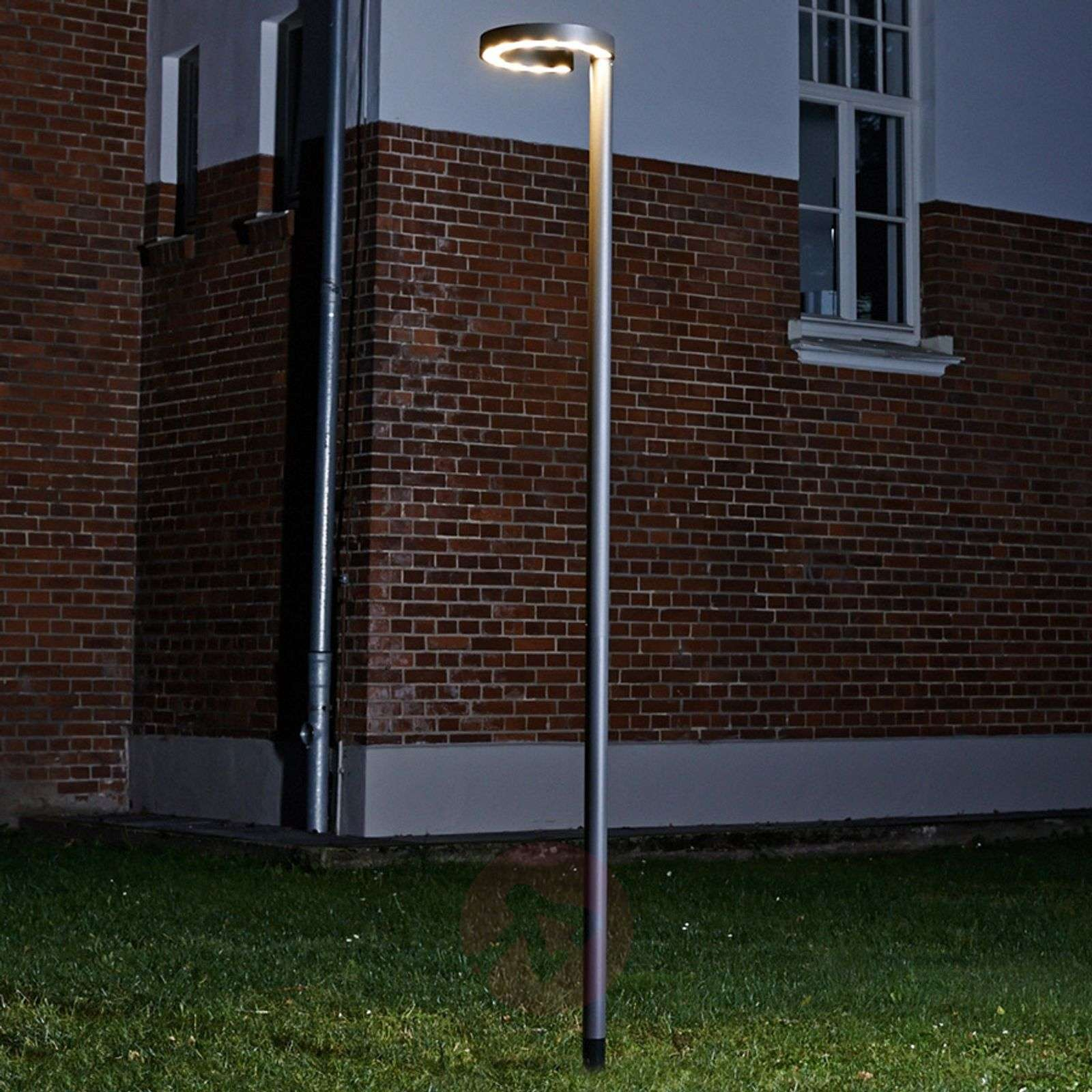 Led post light jannis with 24 w cree leds lights aloadofball Image collections