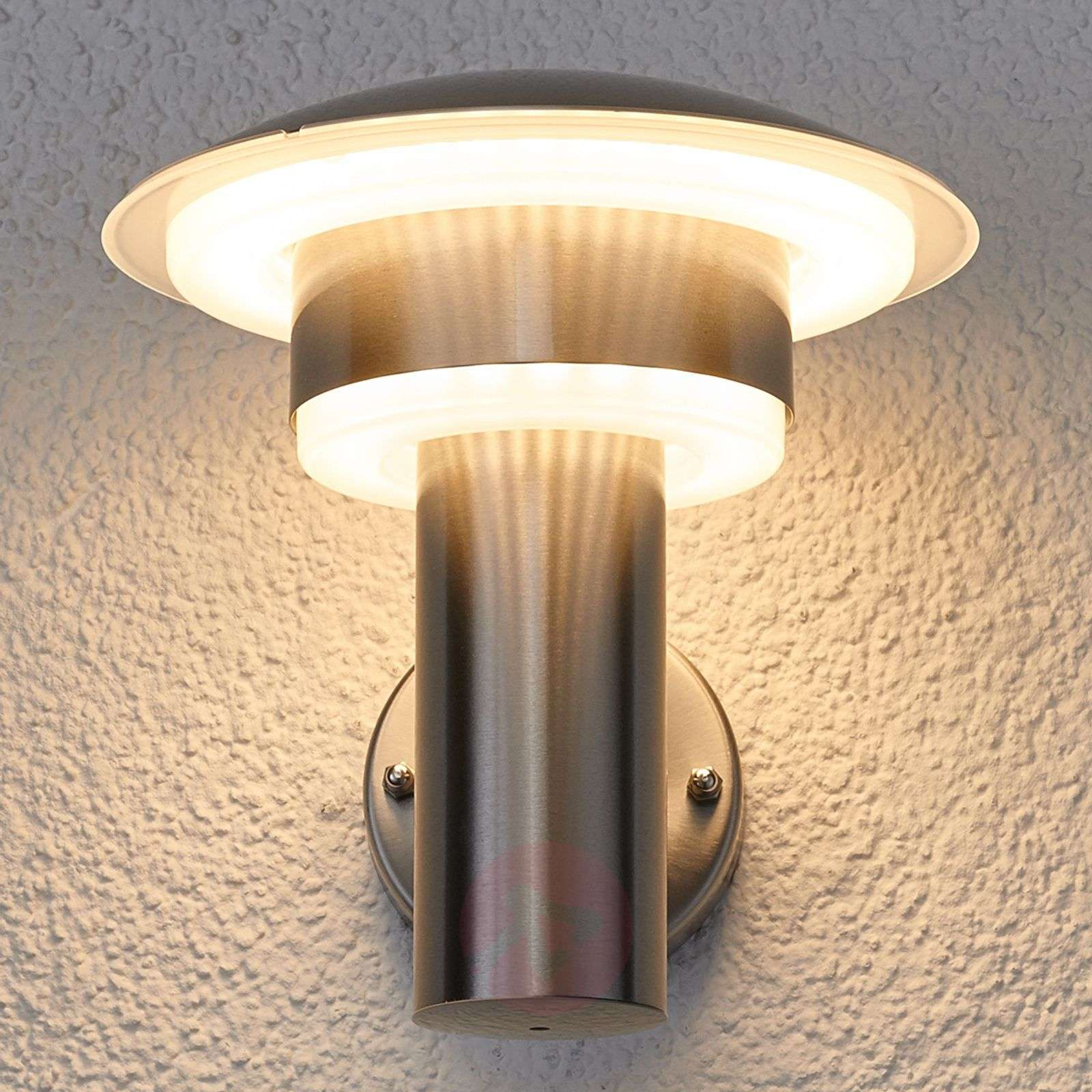 LED stainless steel outdoor wall light Lillie-9988017-01