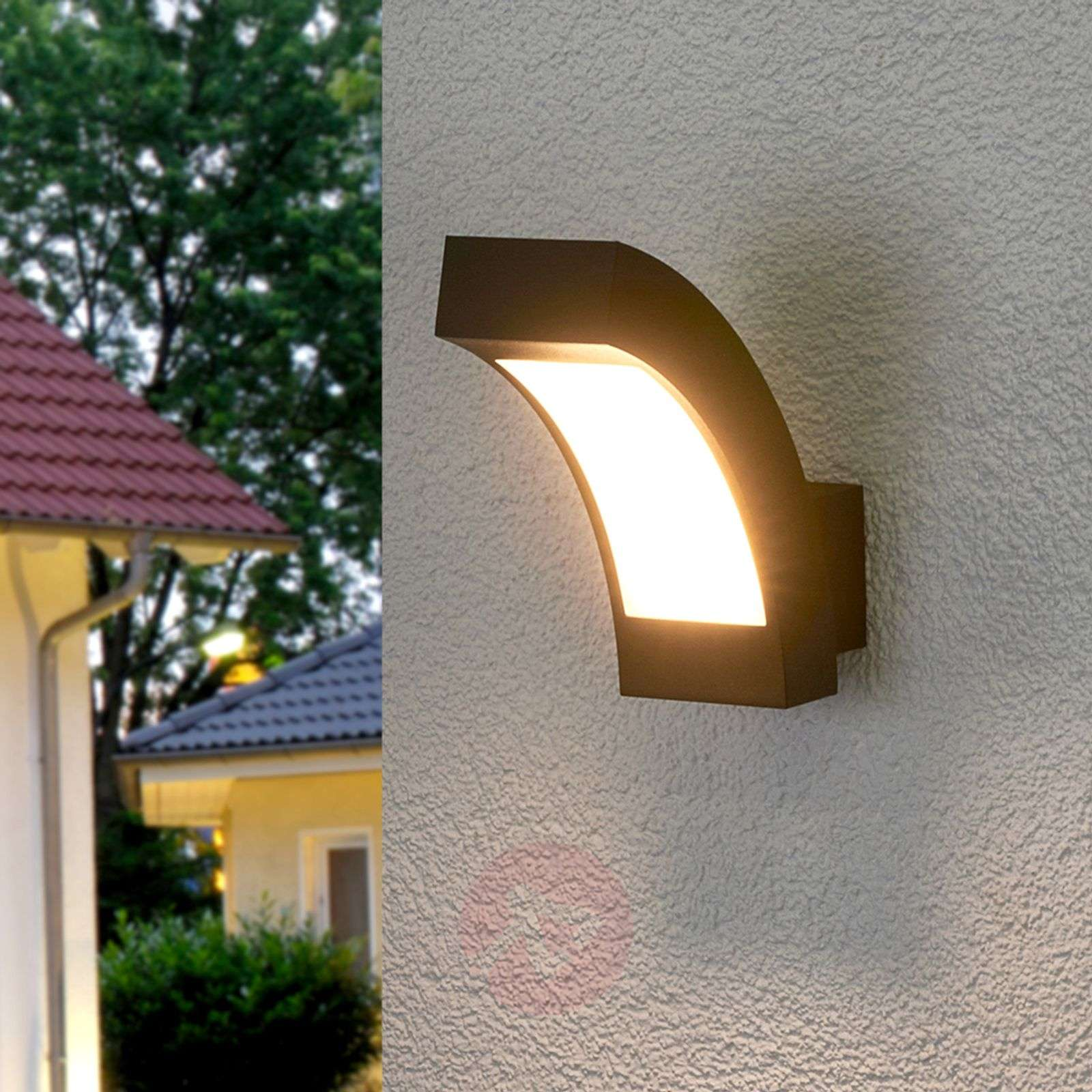 Lennik LED Exterior Wall Lamp, IP54-9619002-04