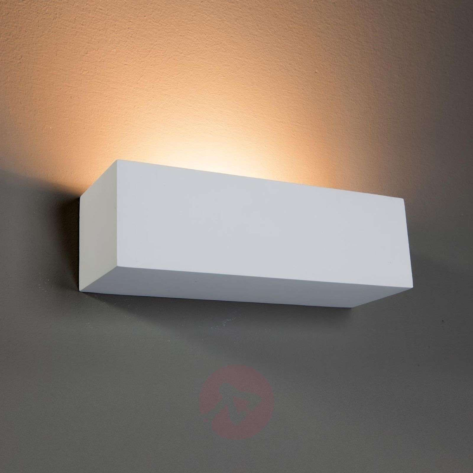 100+ [ How Plaster Wall Light Lights ] Gl 102 Curve Plaster Wall Sconce By Slv Lighting At ...