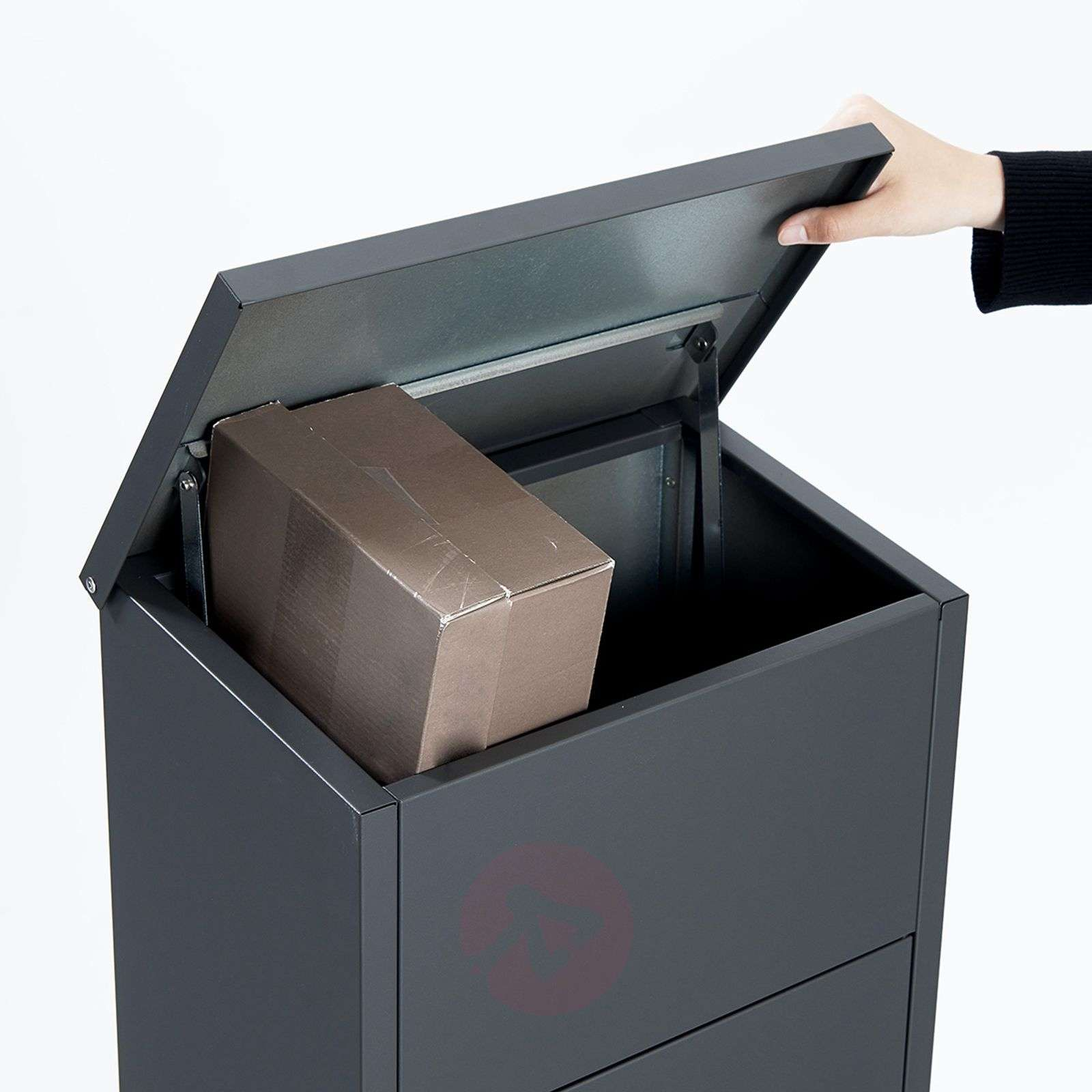 Letterbox Uk: Letter/parcel Box 600 With Ruko Lock, Anthracite