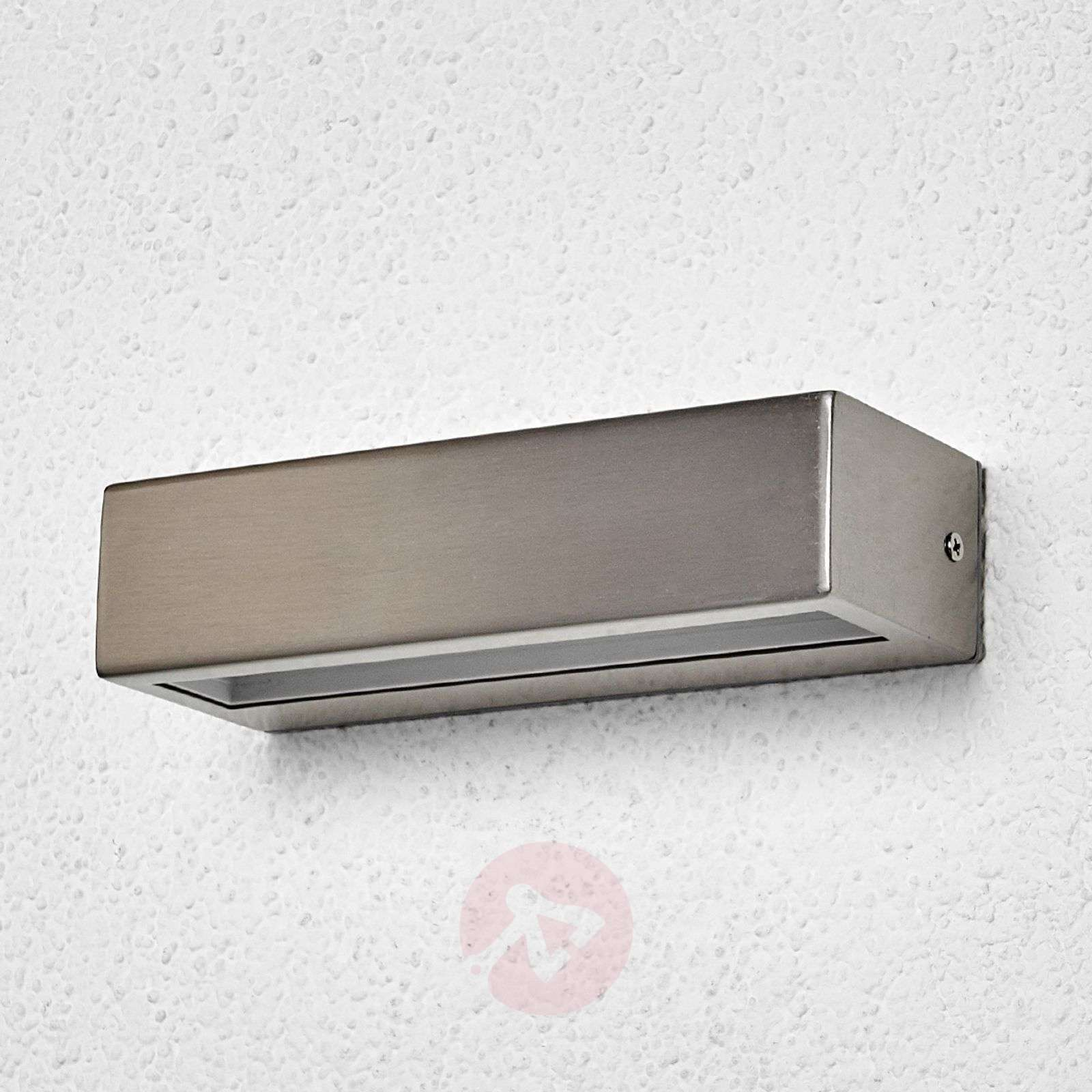 Linear led stainless steel outdoor light patrica Exterior linear led lighting