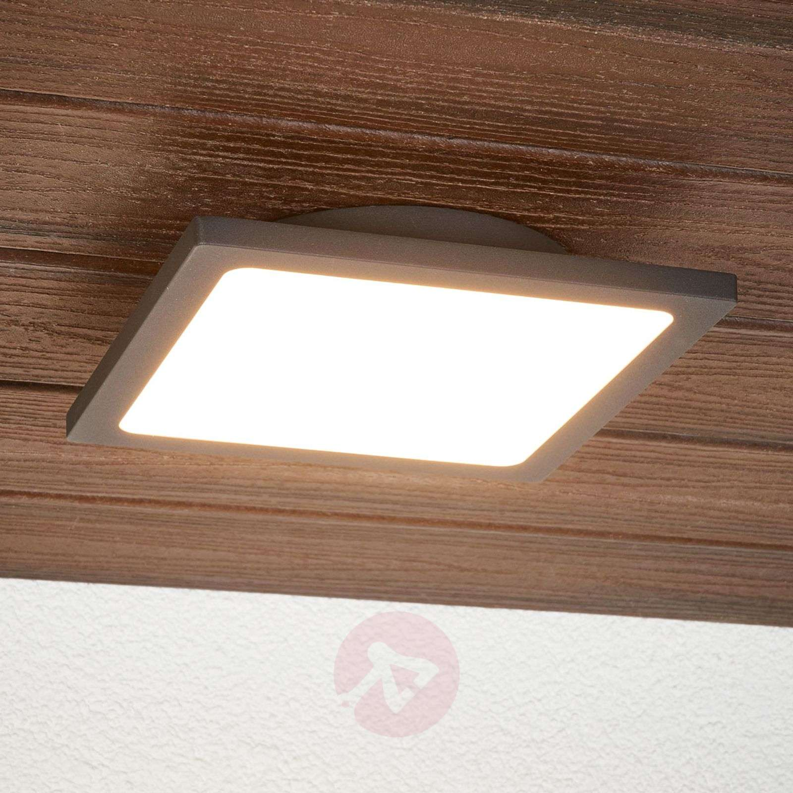 Swell Mabella Led Outdoor Ceiling Lamp With Sensor Download Free Architecture Designs Jebrpmadebymaigaardcom