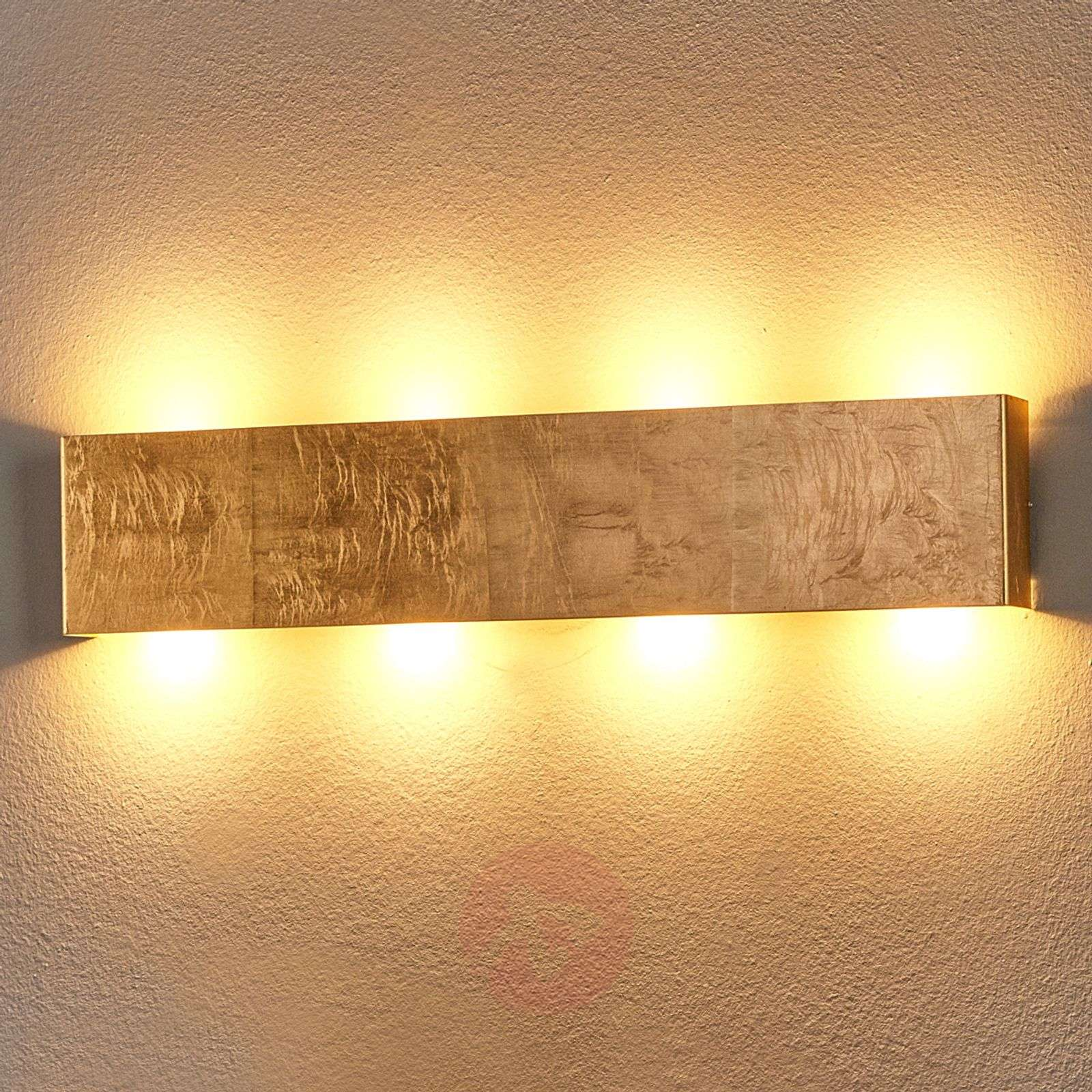 Maja antique golden led wall light dimmable lights maja antique golden led wall light dimmable 6722199 01 aloadofball Choice Image
