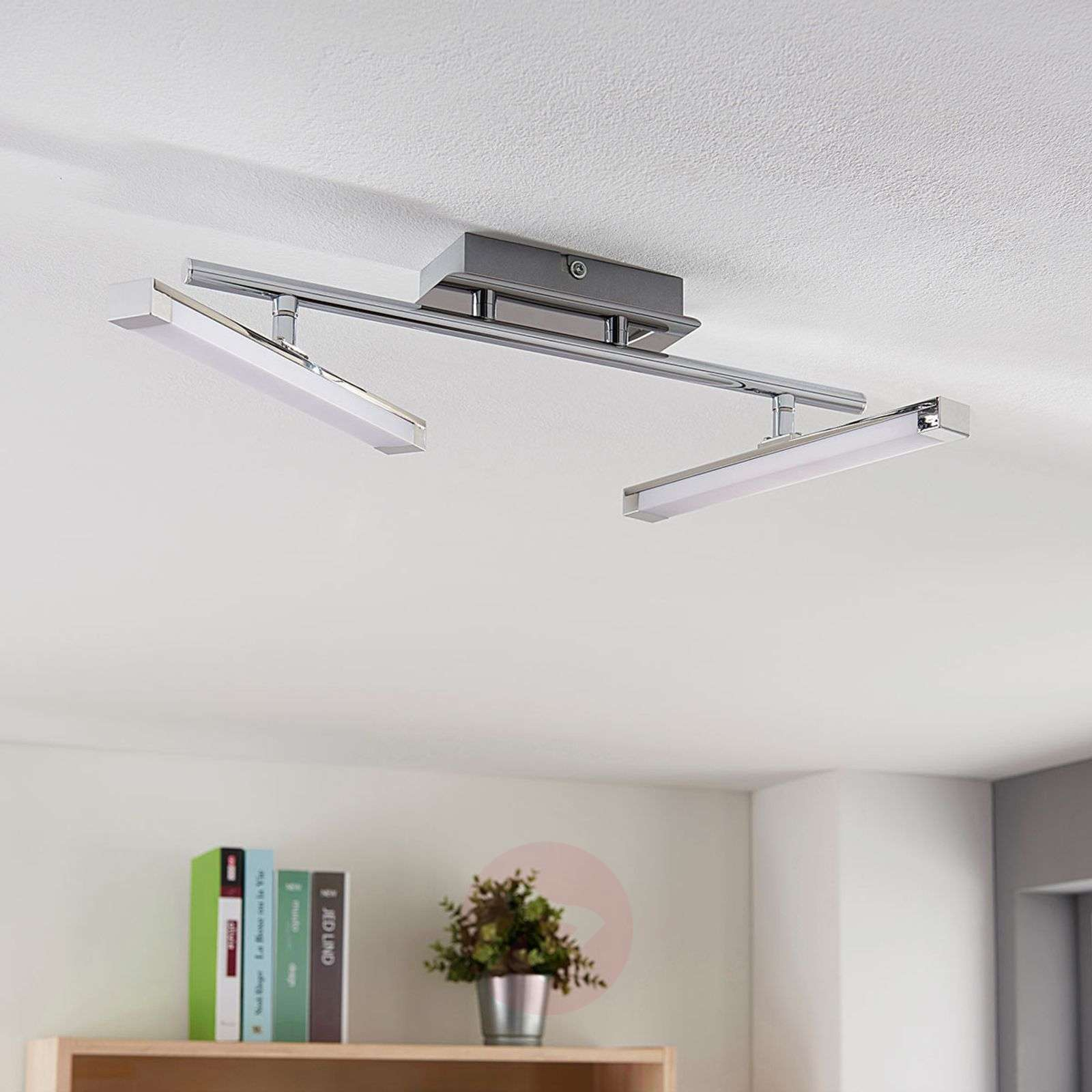 Modern LED ceiling lamp Pilou, three-way dimmable | Lights.co.uk