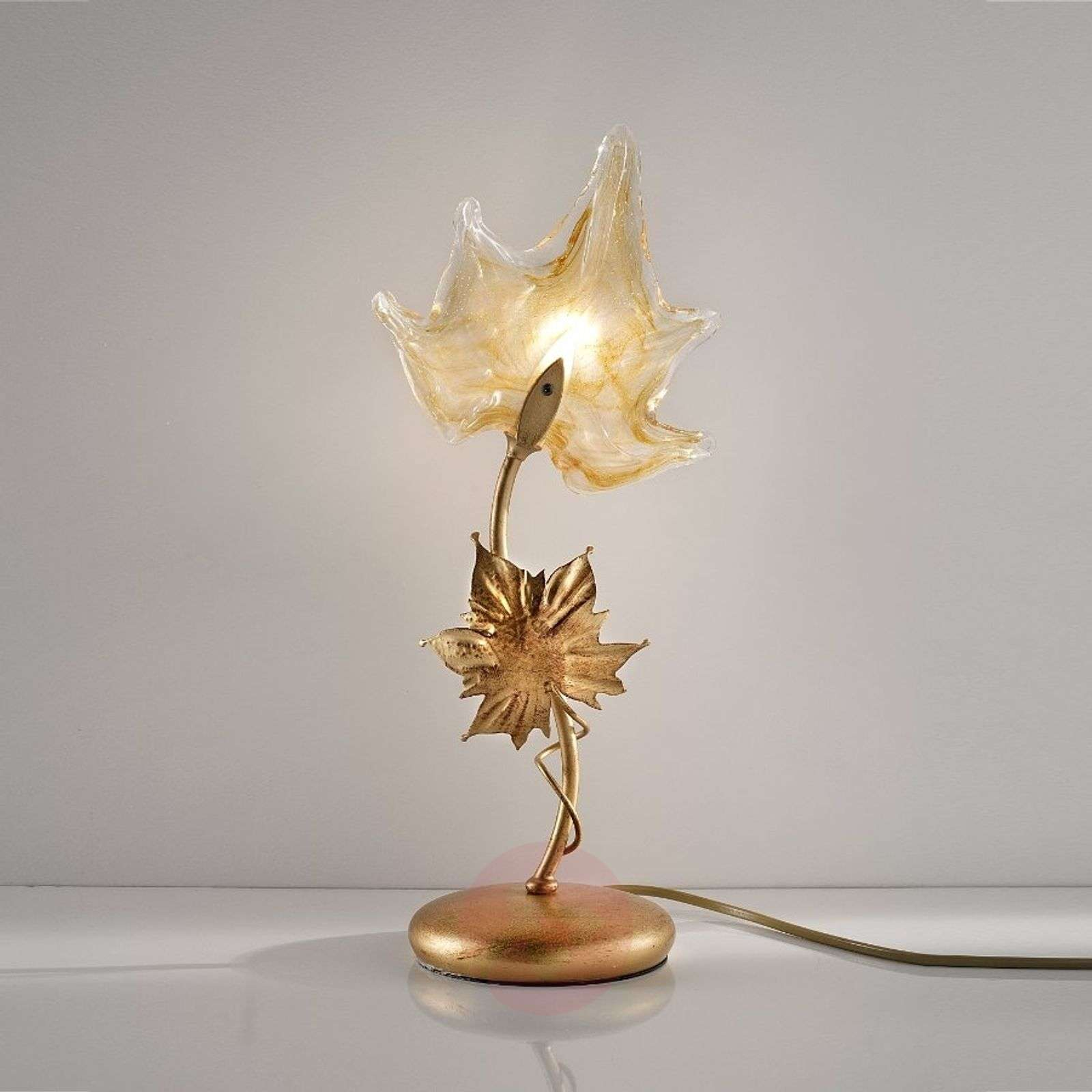 Murano glass table lamp elite lights murano glass table lamp elite 1548035 01 aloadofball Gallery