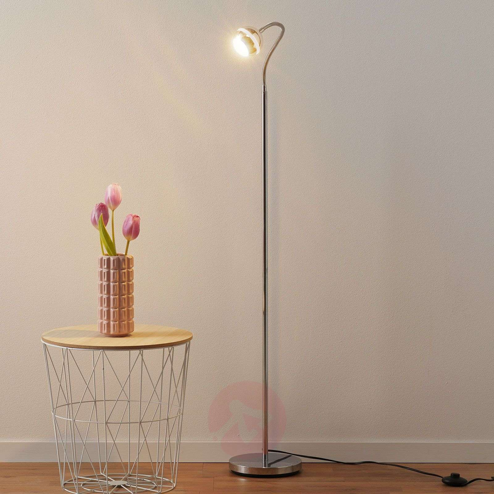 Narrow Ada LED floor lamp-9004580-01