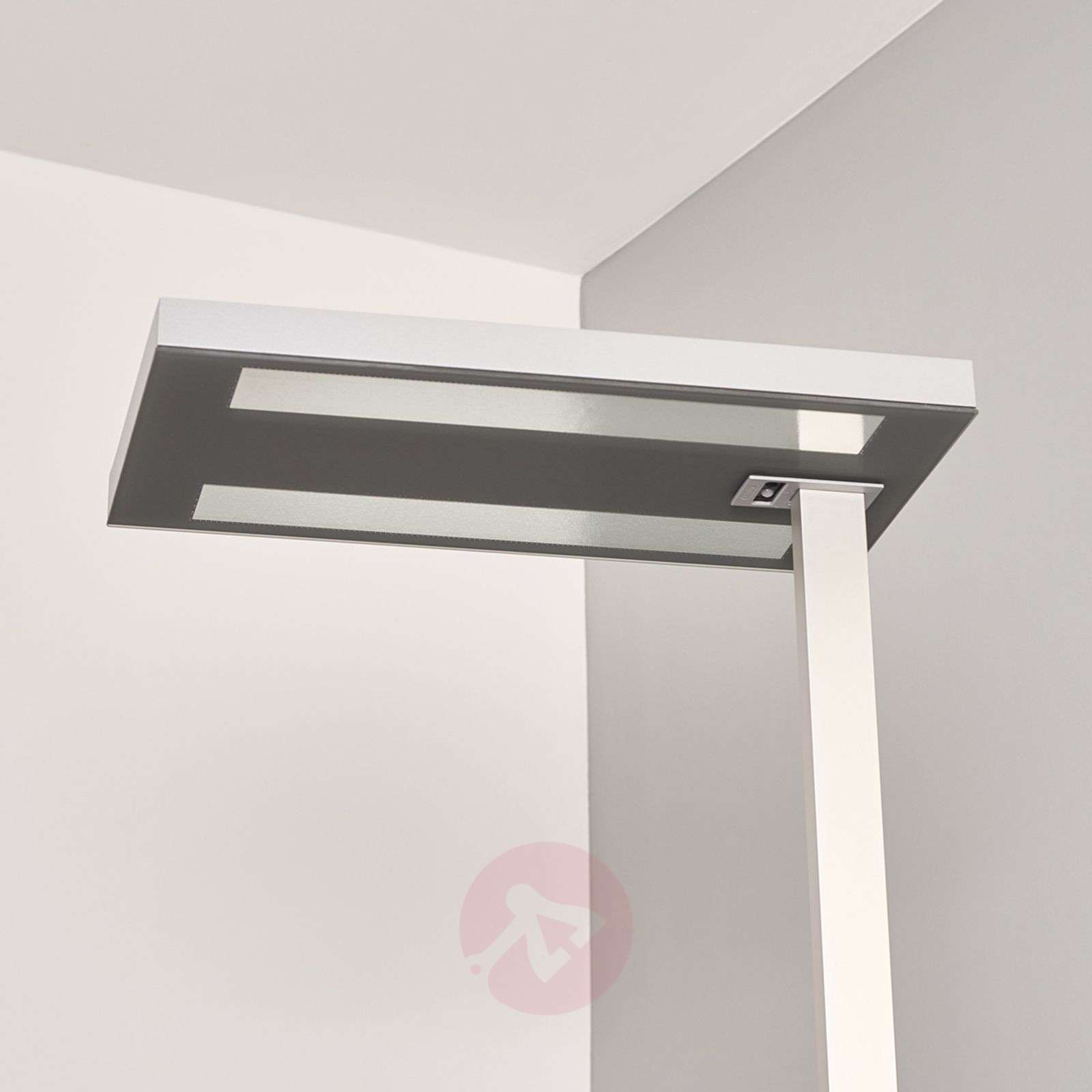 office table lamp. Office Floor Lamp Free-F LED HFDd 840 SD Grey-6040160-03 Table