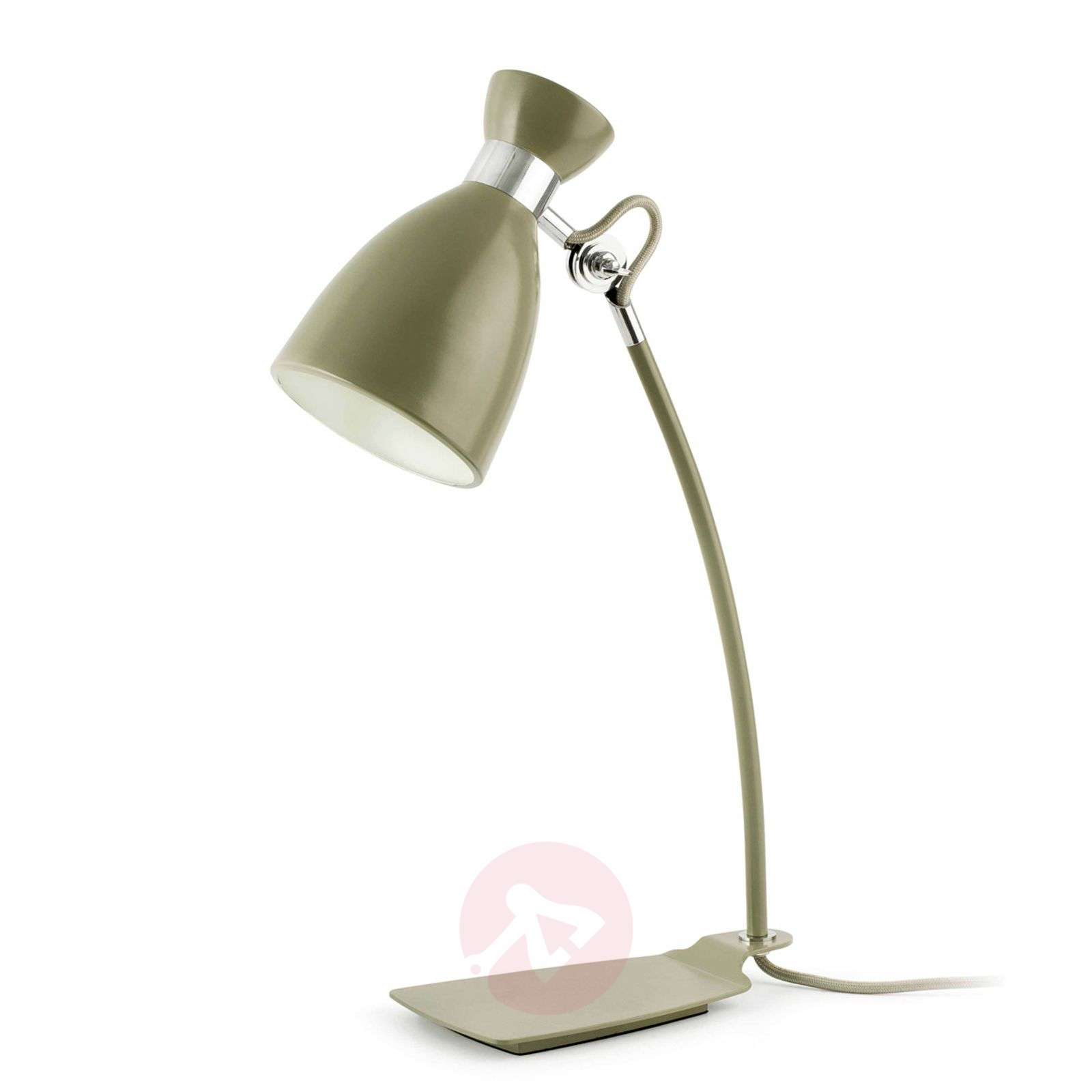Olive green retro desk lamp lights olive green retro desk lamp 3507164 01 aloadofball Choice Image