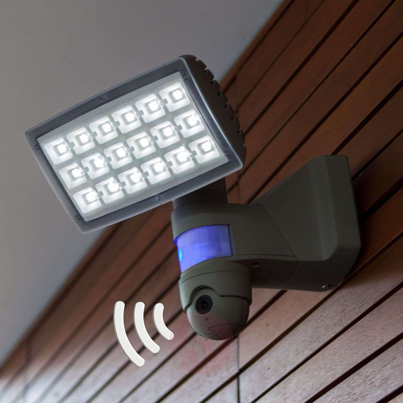Peri Cam Led Outdoor Spotlight With Camera Sensor Lights