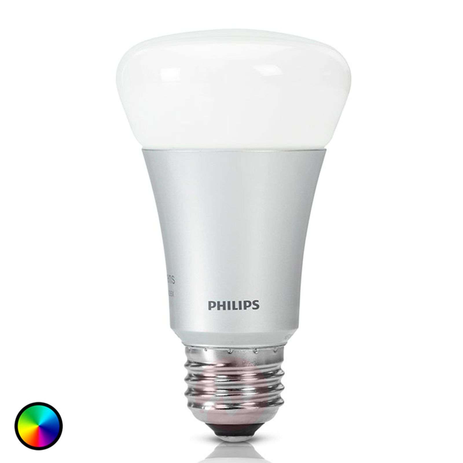 Plafoniera A Led Beign Philips Hue : Philips hue lamp white color ambiance e27 10w lights.co.uk
