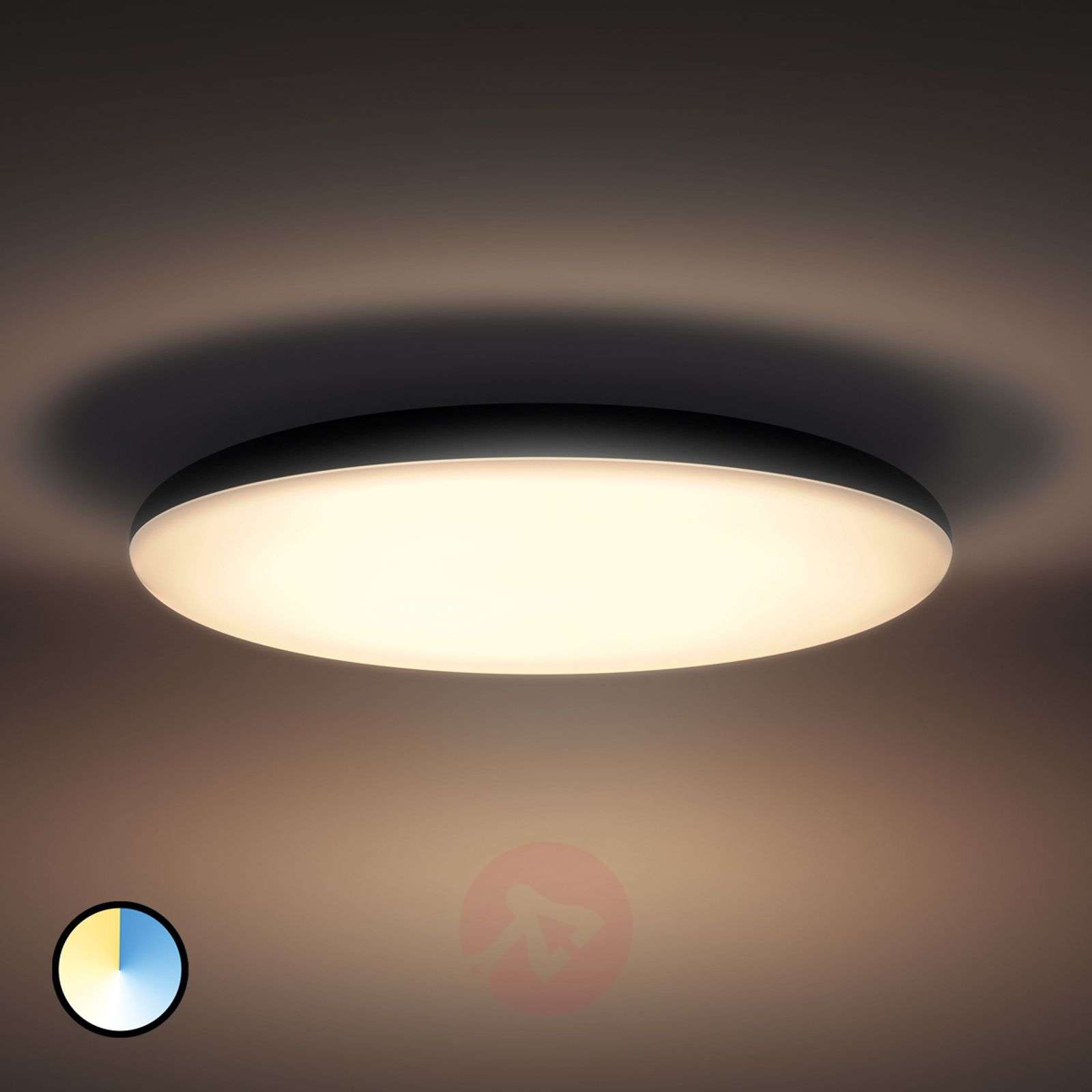 Philips Hue Led Ceiling Light Cher With Dimmer Lights Co Uk