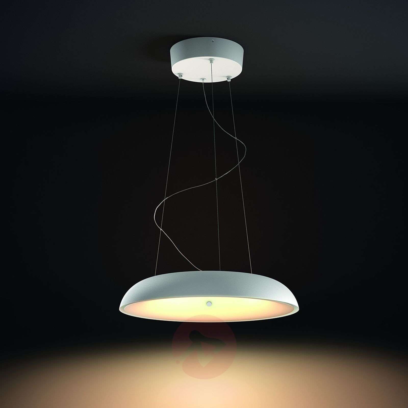Philips Hue LED hanging light Amaze in white Lights.co.uk