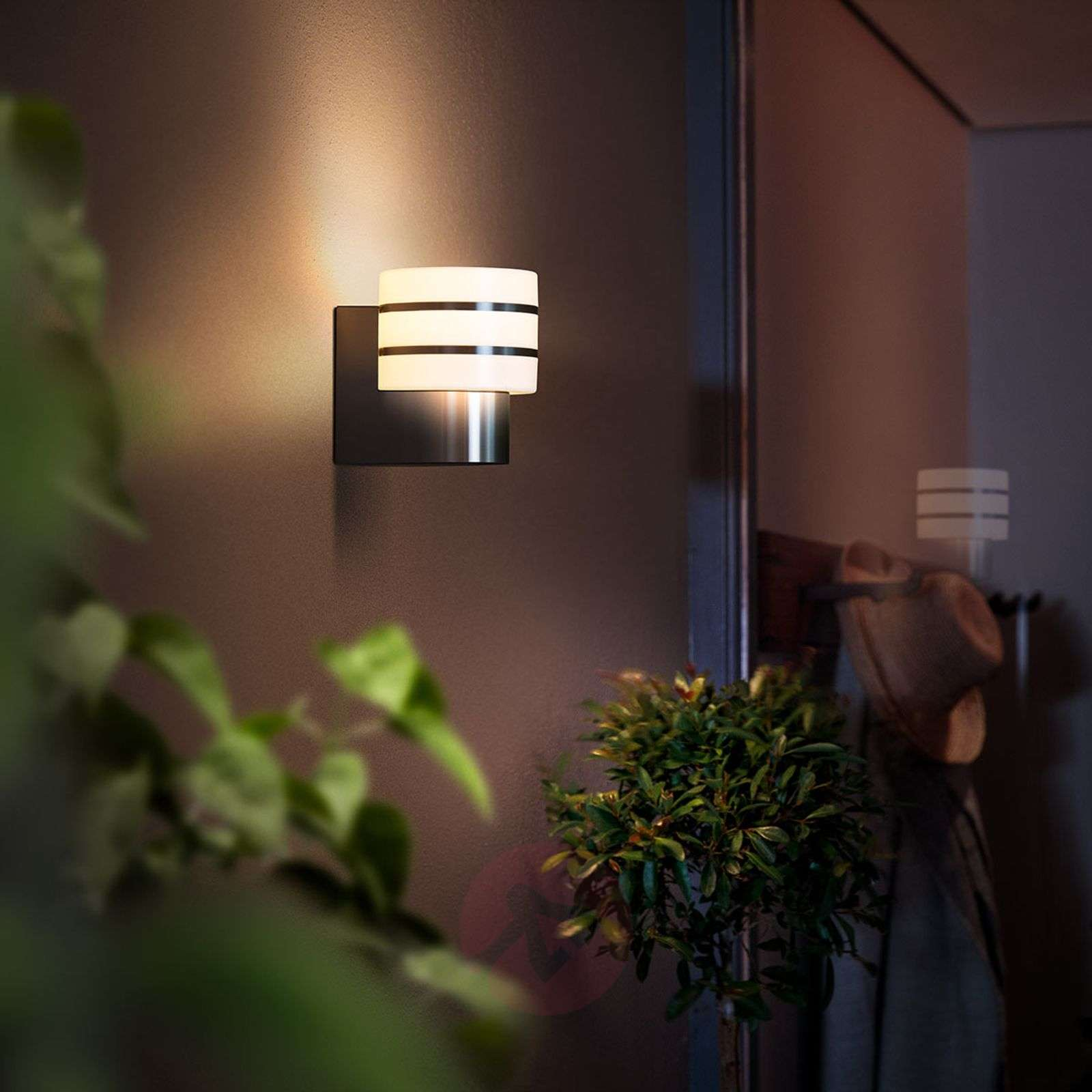 Philips Hue Tuar LED outdoor wall light | Lights.co.uk
