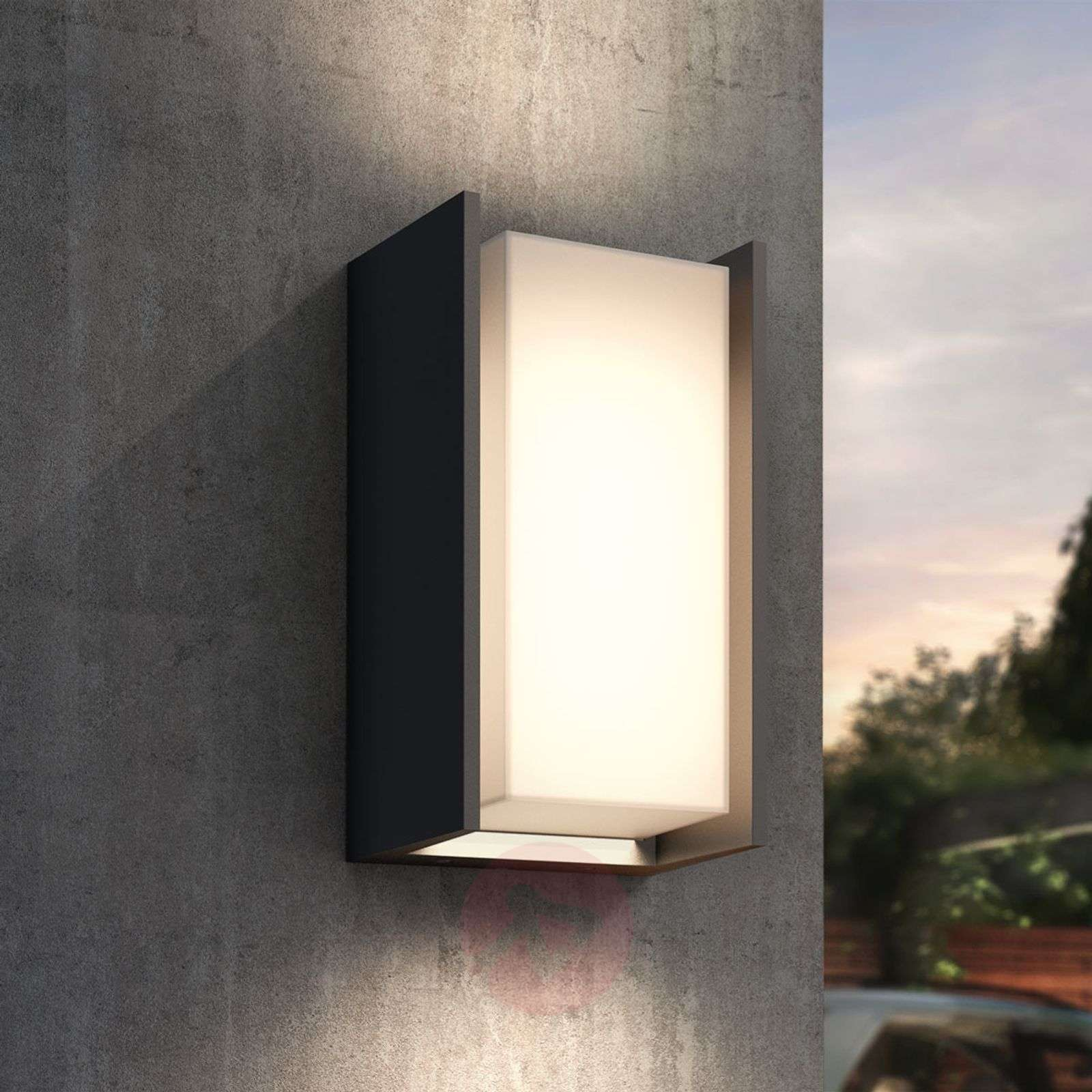 Philips Hue Turaco LED outdoor wall light | Lights.co.uk