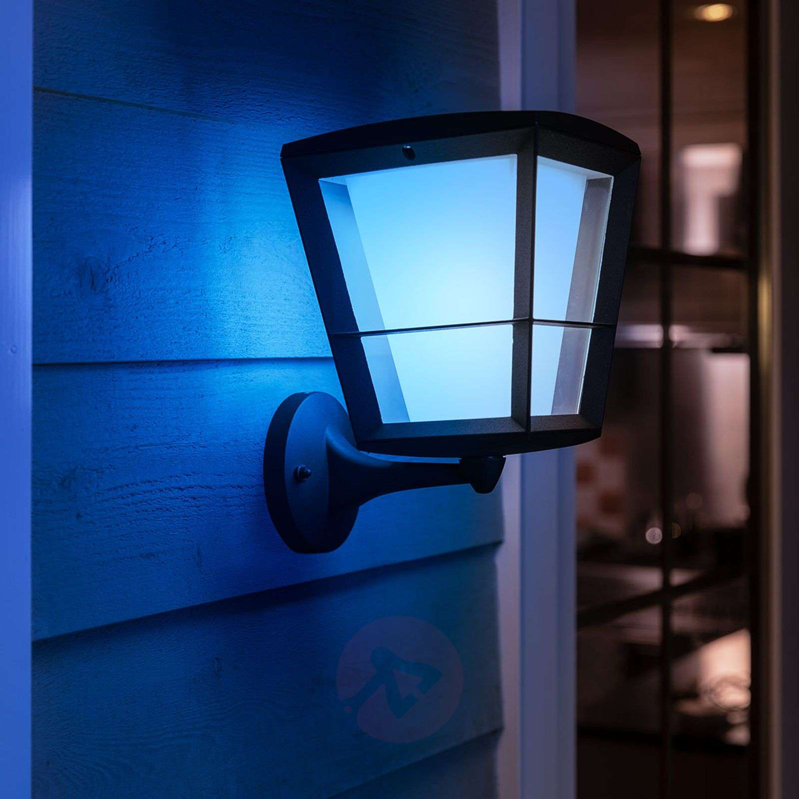 Philips Hue White Color Econic Wall Light Above Lights
