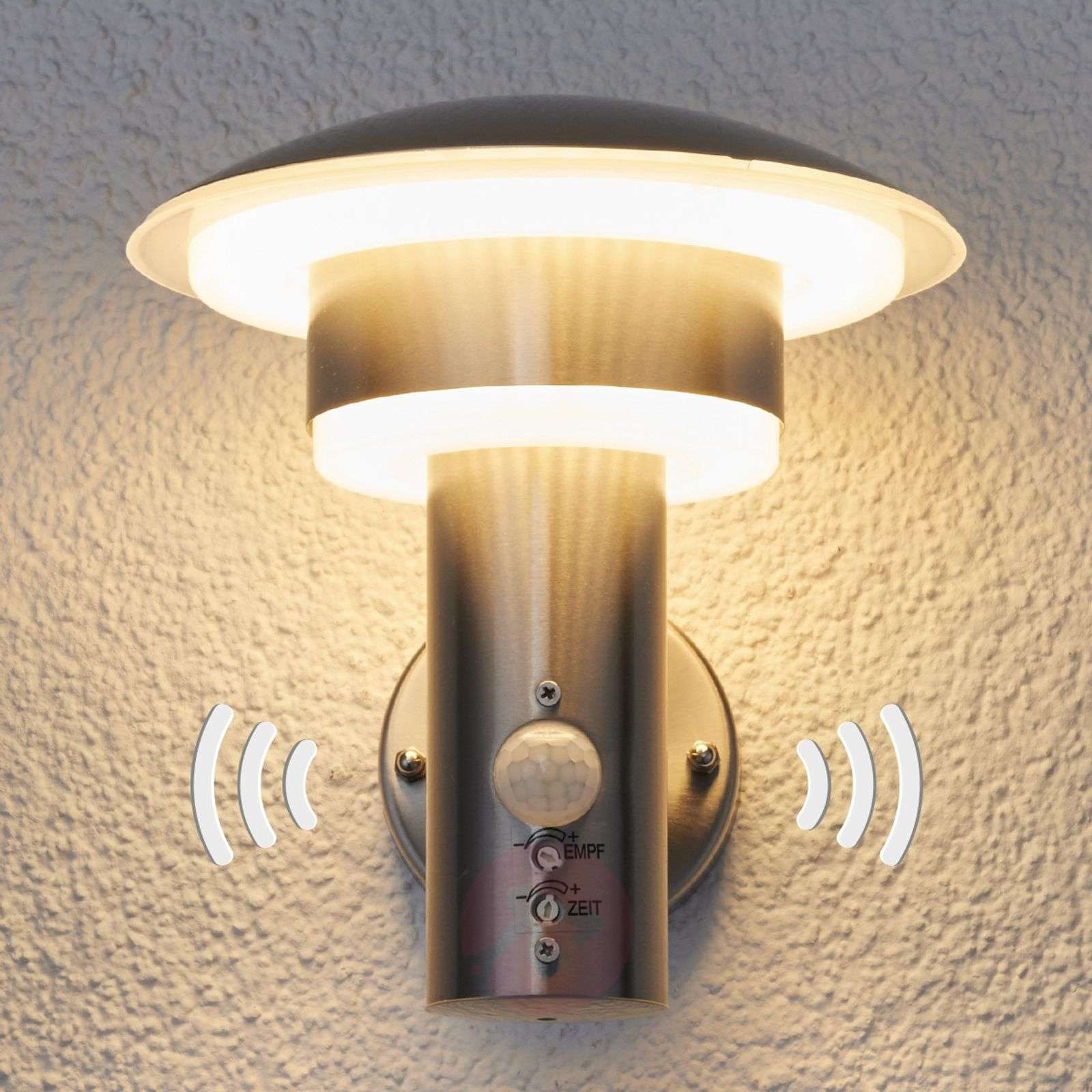 Pir outdoor wall light lillie with leds lights pir outdoor wall light lillie with leds 9988018 01 mozeypictures