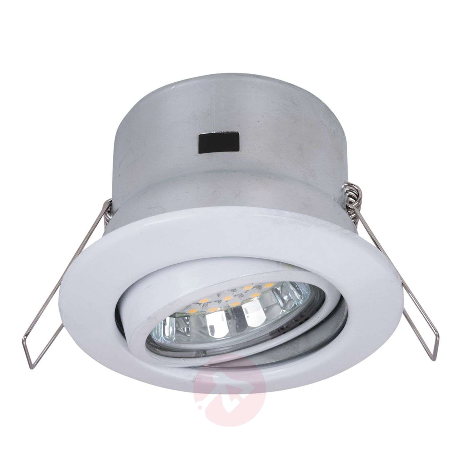 pivotable and rotatable recessed light