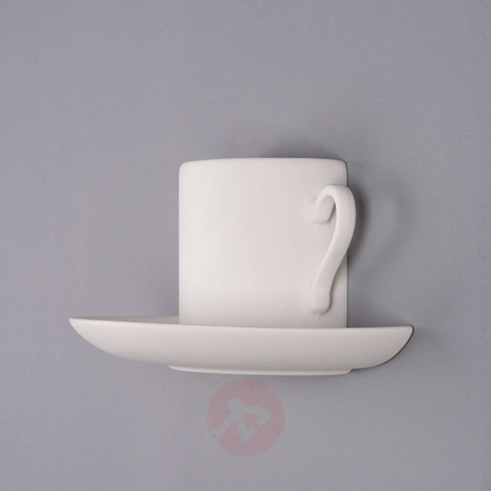 Paintable Plaster Wall Lights : Pocillo Wall Light Paintable Plaster Lights.co.uk
