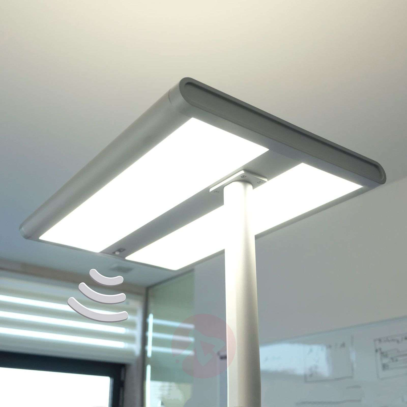 office table lamp. Quirin LED Office Floor Lamp With Sensor-9966001-01 Table