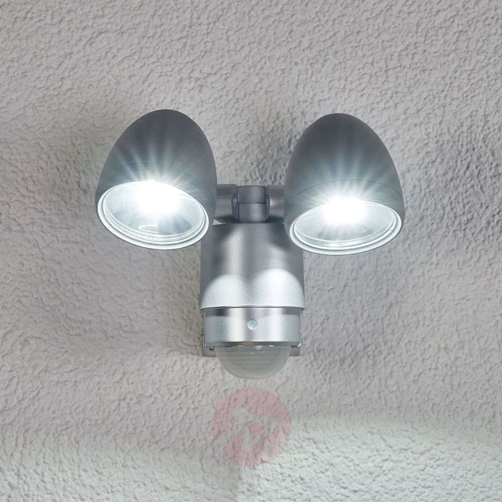 RADIAL Two Lamp LED Exterior Wall Spot-4014128-02
