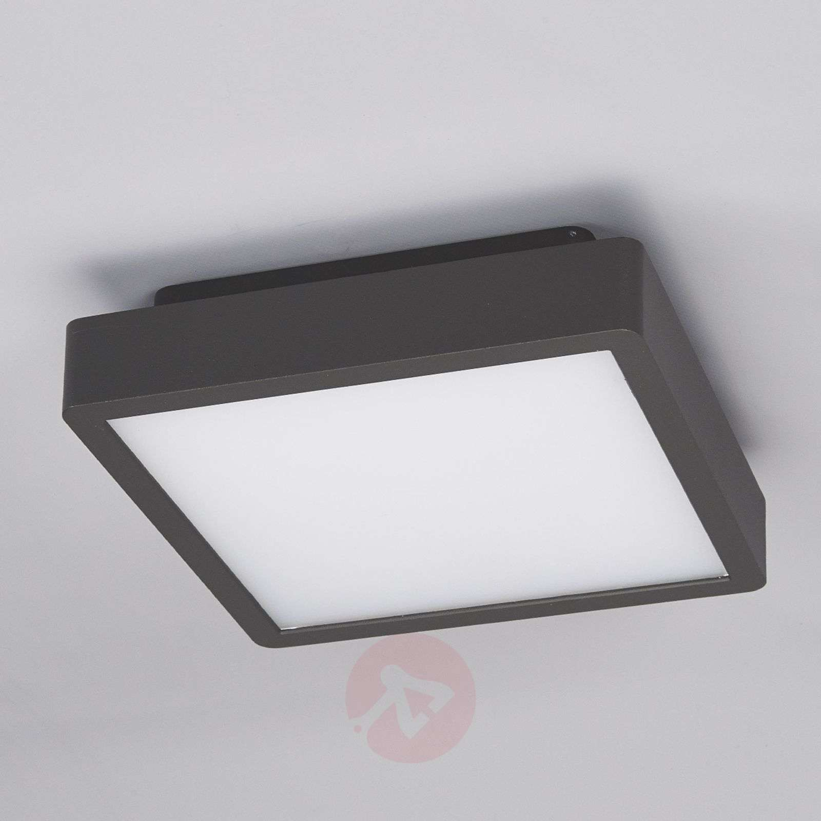 Rectangular led outdoor ceiling light talea lights rectangular led outdoor ceiling light talea 9616049 01 mozeypictures Image collections