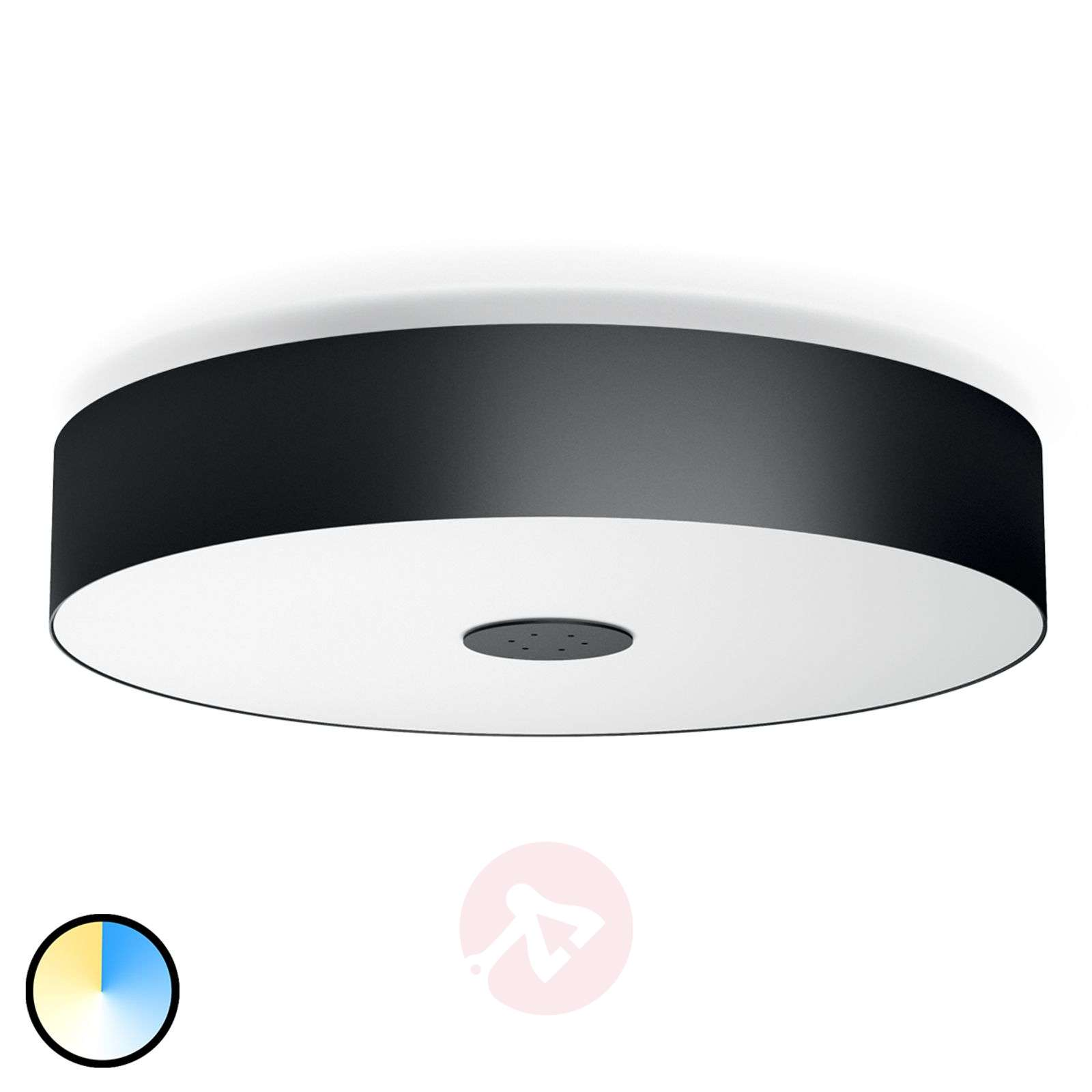 Led Ceiling Lights Company : Remote control philips hue led ceiling light fair lights