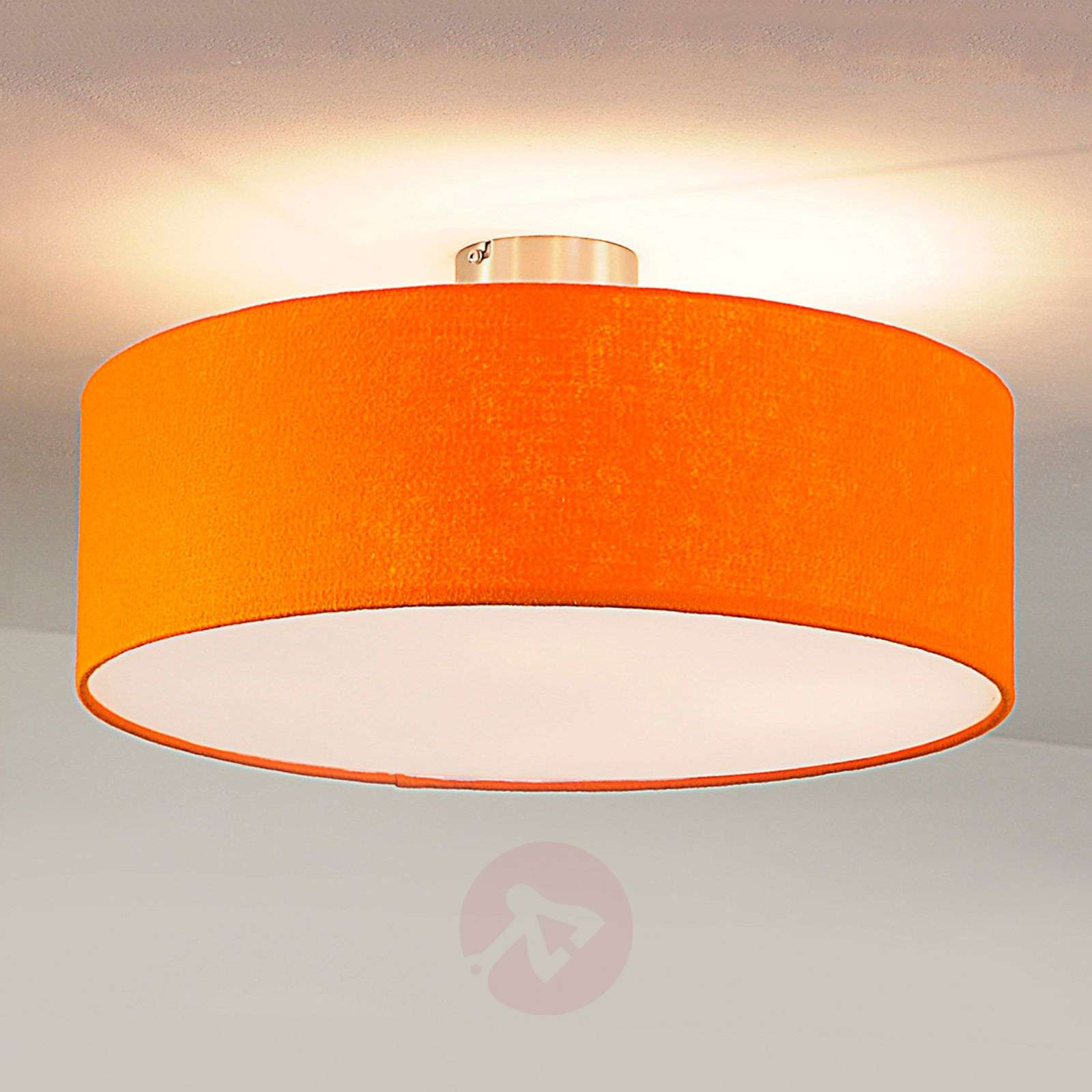 Round Felt Ceiling Light Orange Lights Co Uk