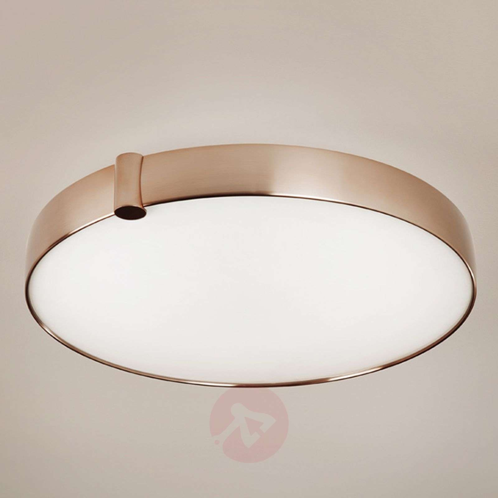 Round led ceiling light siss copper coloured lights round led ceiling light siss copper coloured 3027108 01 aloadofball Image collections